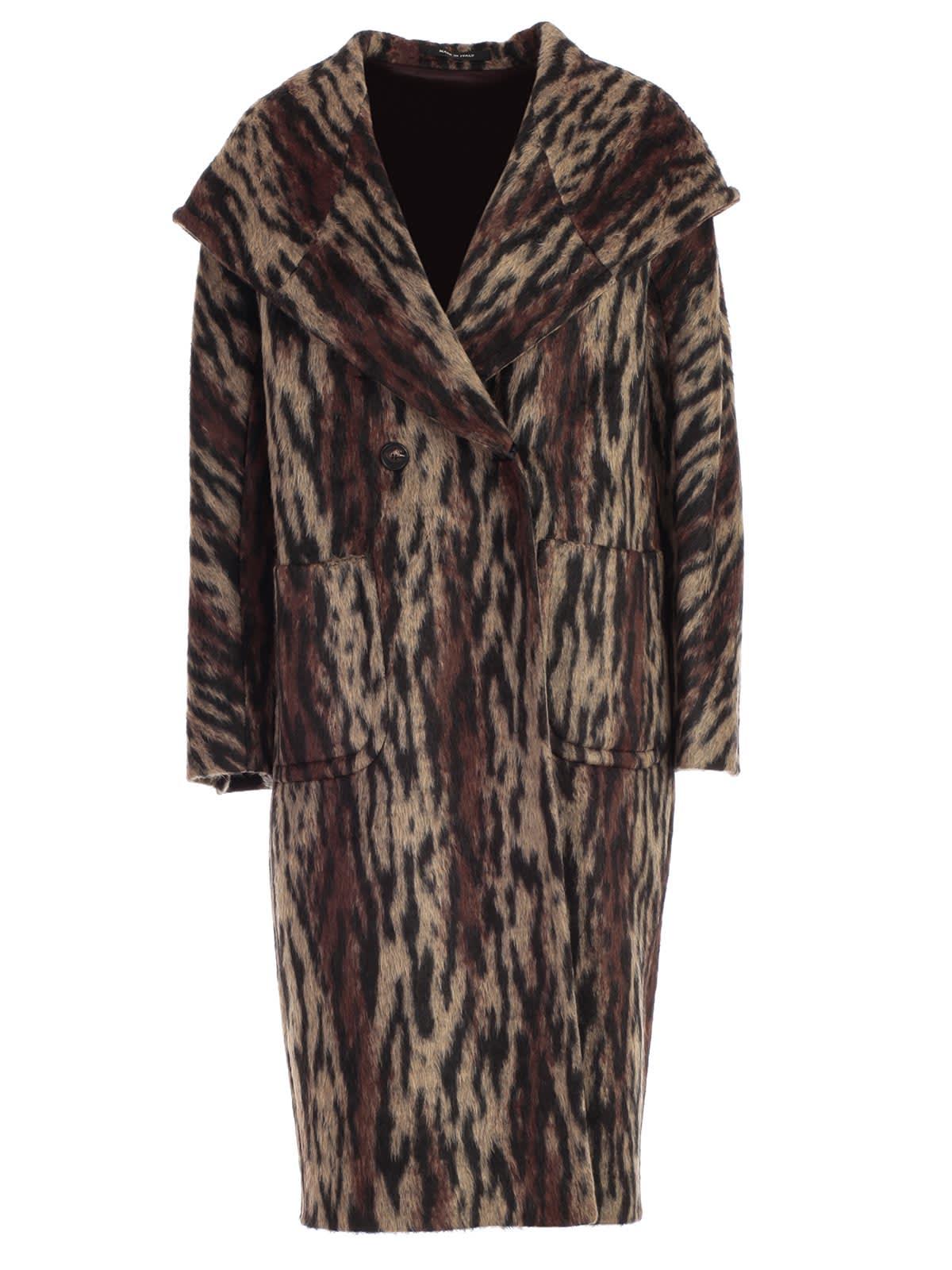 Tagliatore Coat Double Breasted W/hood