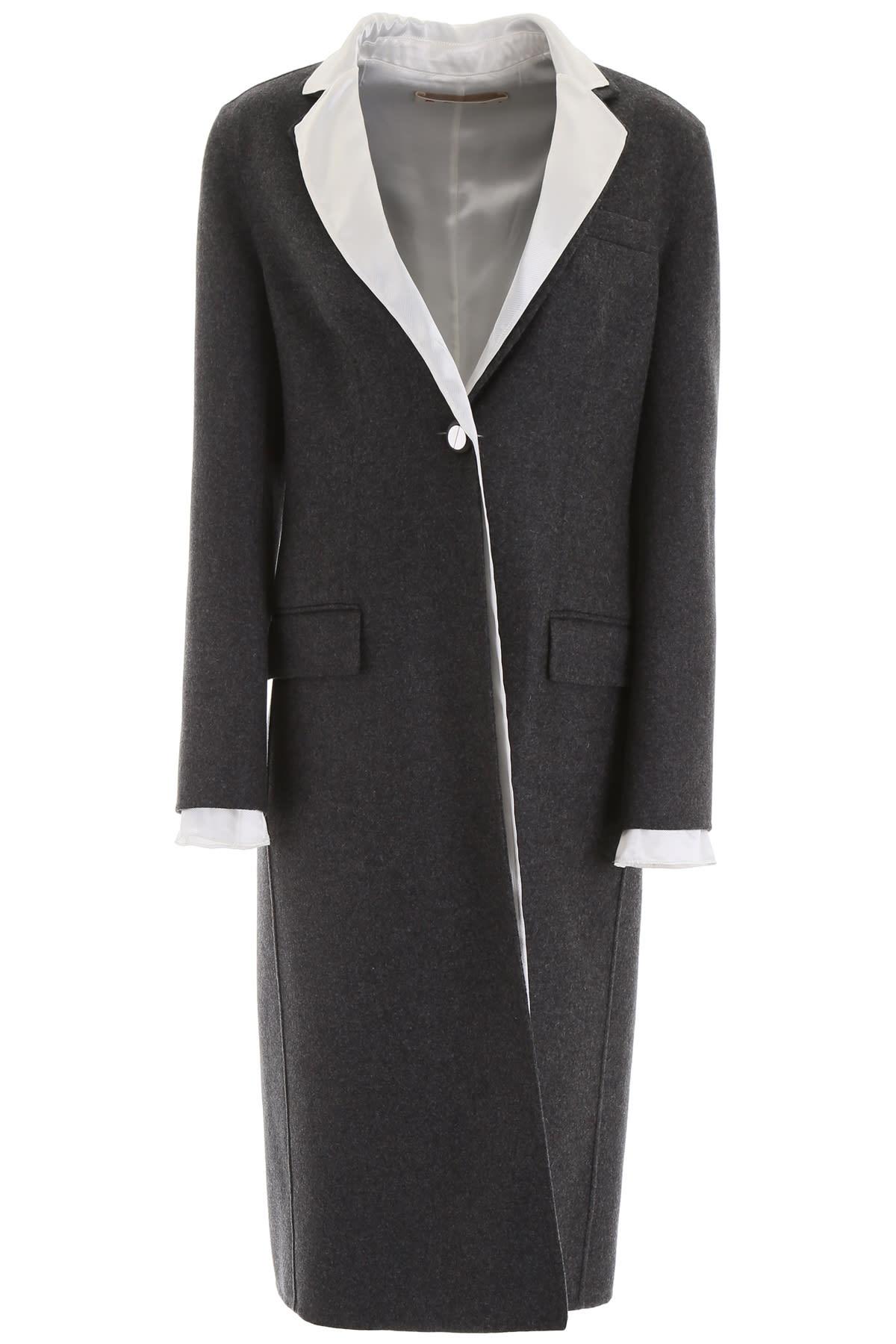 Marni Double Wool Coat