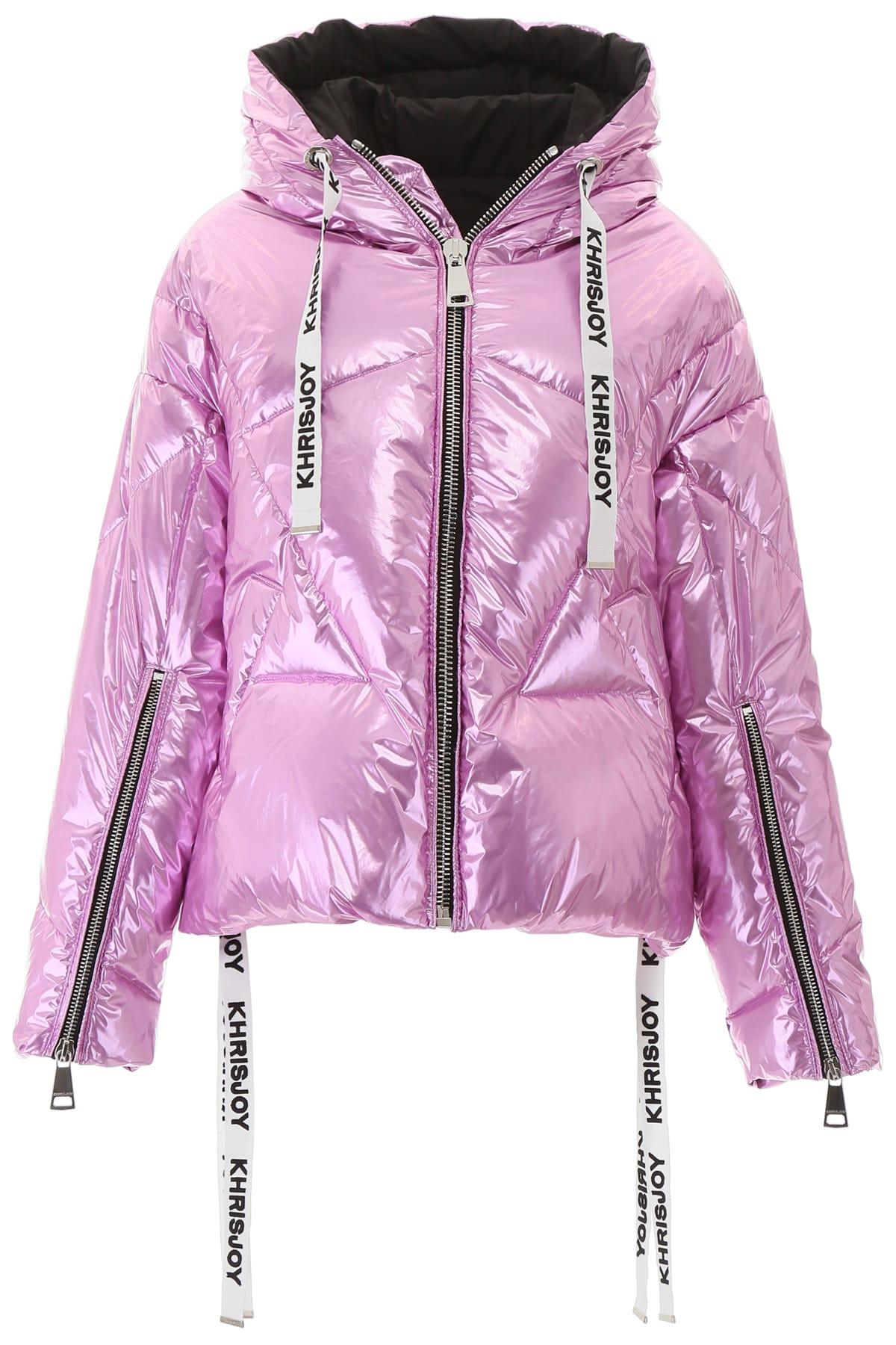 Khrisjoy Silver Khris Puffer Jacket