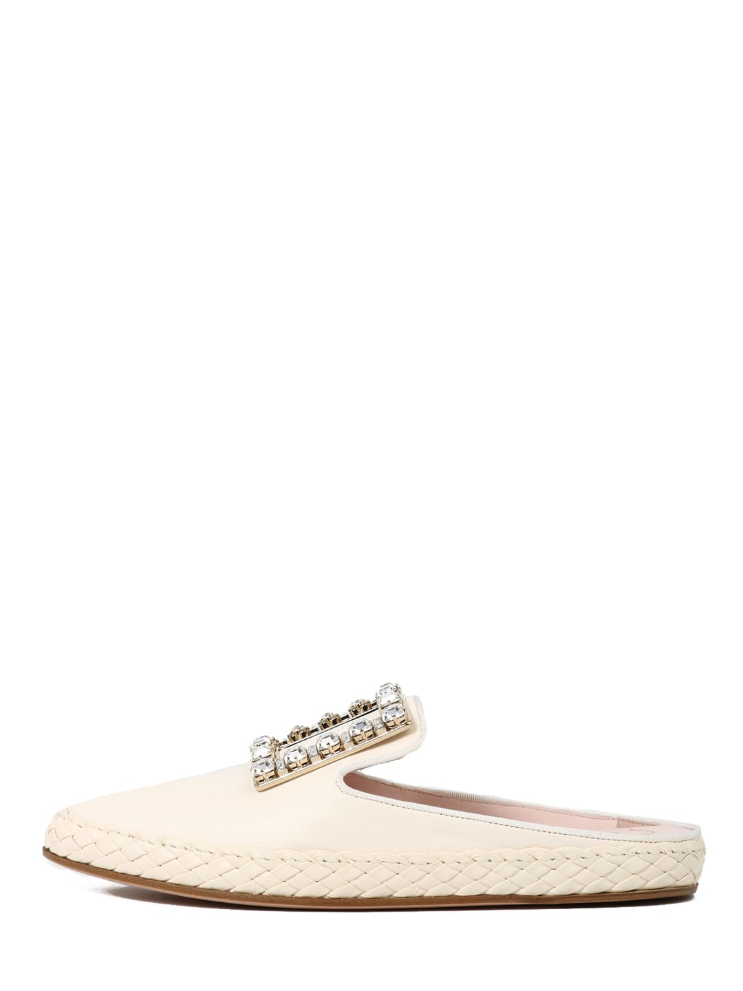 Roger Vivier MULE RV LOUNGE STRASS BUCKLE