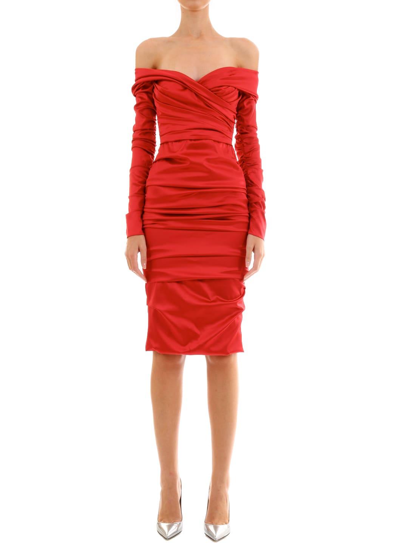 Dolce & Gabbana Draped Dress