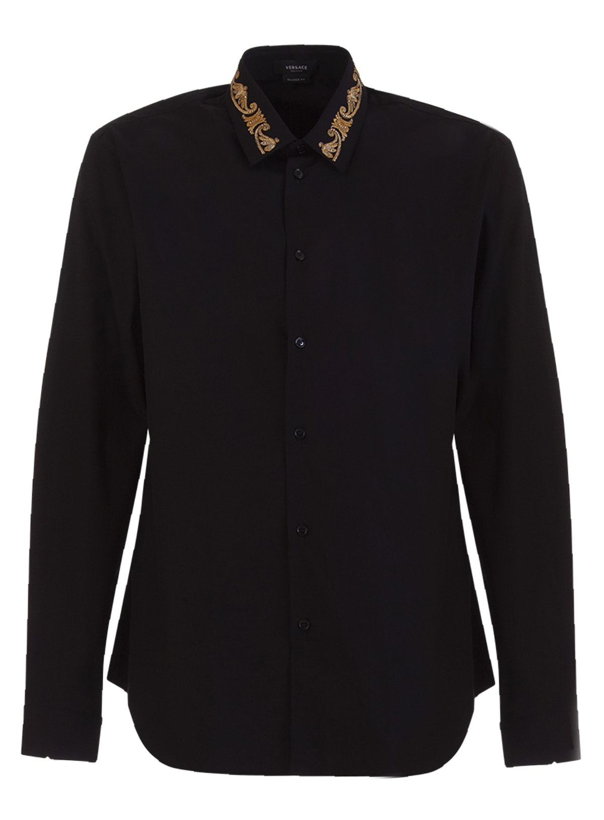 Versace BAROQUE EMBROIDERY SHIRT