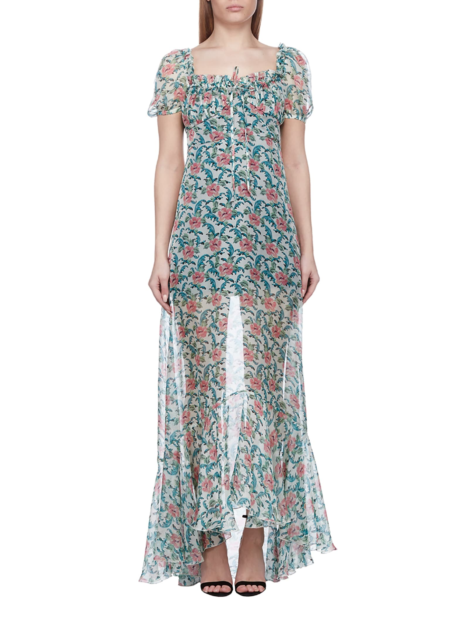 Buy Raquel Diniz Floral Chiffon Dress online, shop Raquel Diniz with free shipping