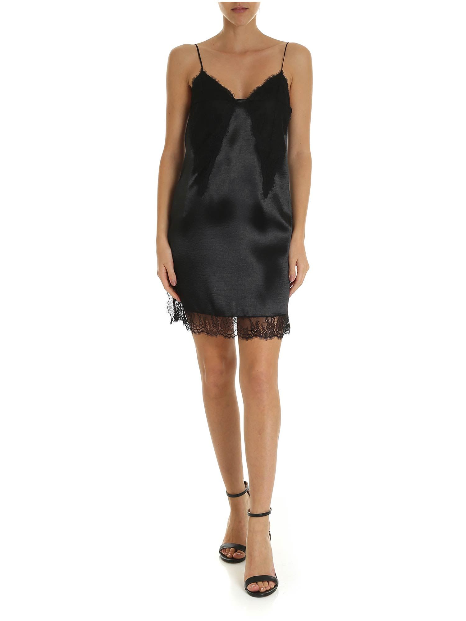 Buy Philosophy - Dress With Lace Details online, shop Philosophy di Lorenzo Serafini with free shipping