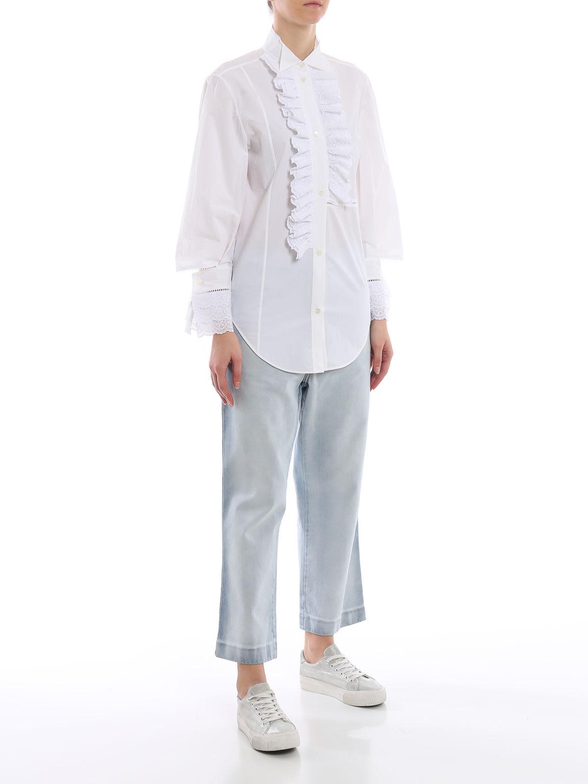 4c414cf2753 Loewe Ruffled Shirt