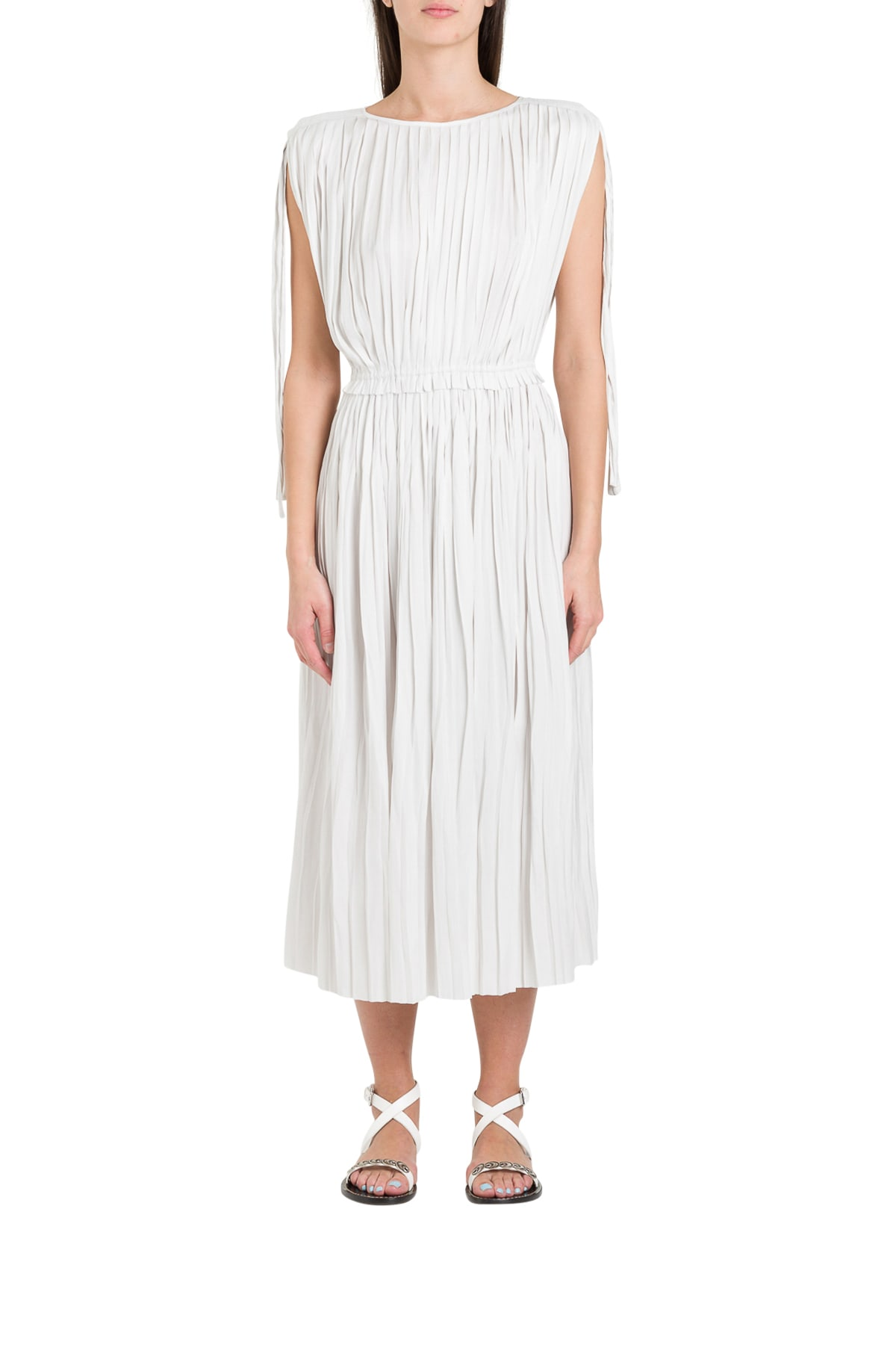 Buy Ulla Johnson Alessa Pleated Dress online, shop Ulla Johnson with free shipping
