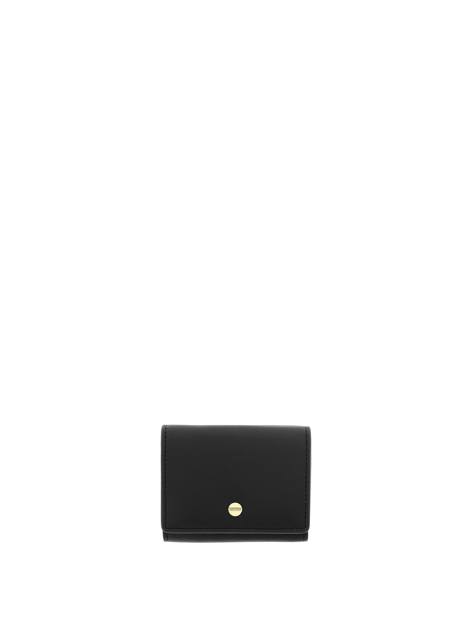 Borbonese SMALL BLACK WALLET