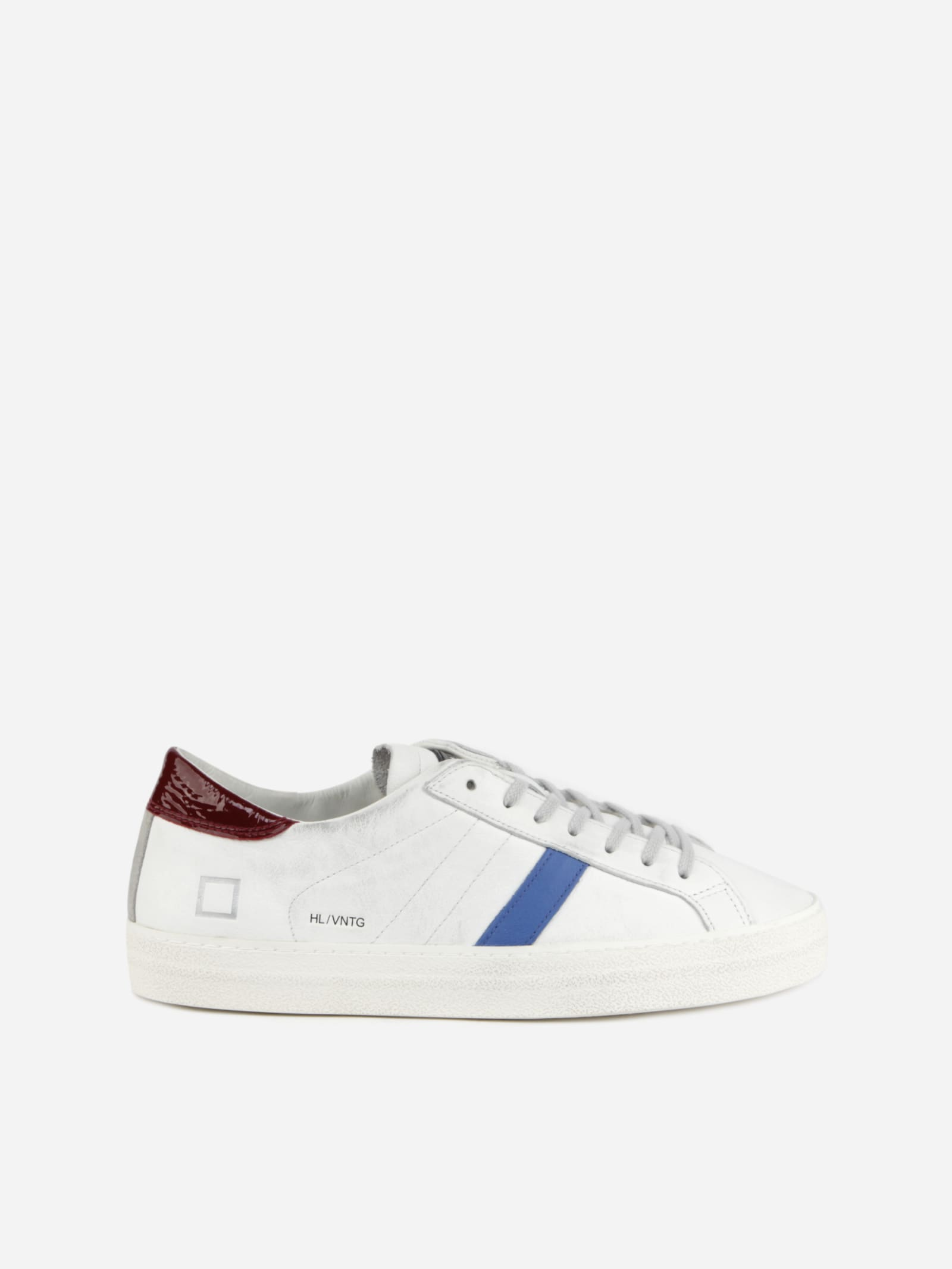 D.a.t.e. Leathers HILL LOW SNEAKERS IN LEATHER