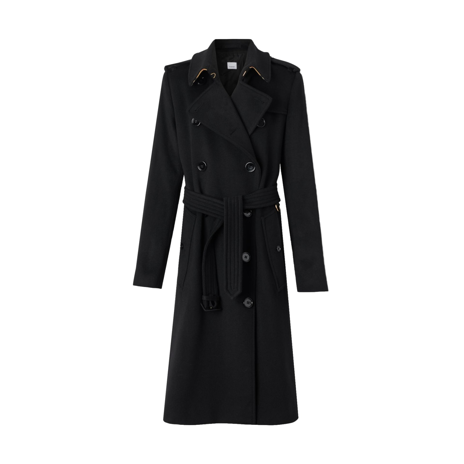 Burberry Kensington Belted Trench Coat/19 No Foto
