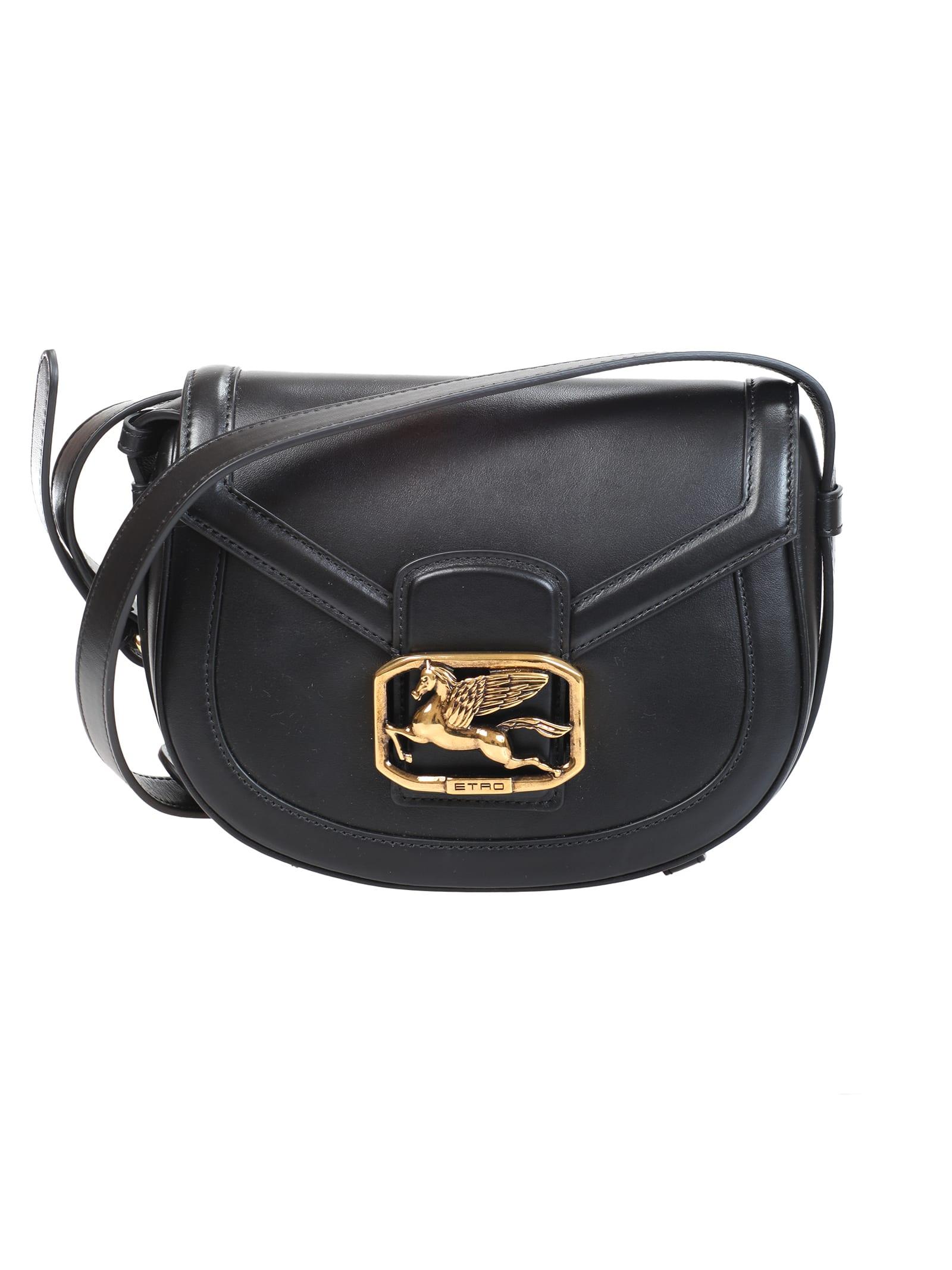 Etro Pegaso leather bag