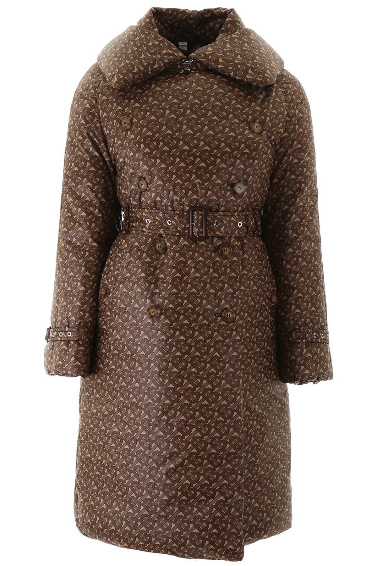 Burberry Monogram Nylon Trench Coat