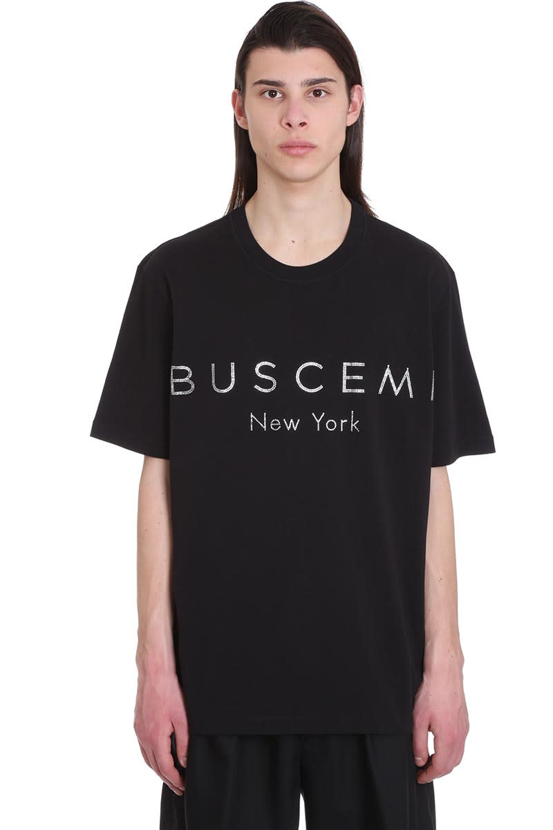 Buscemi T-shirt In Black Cotton