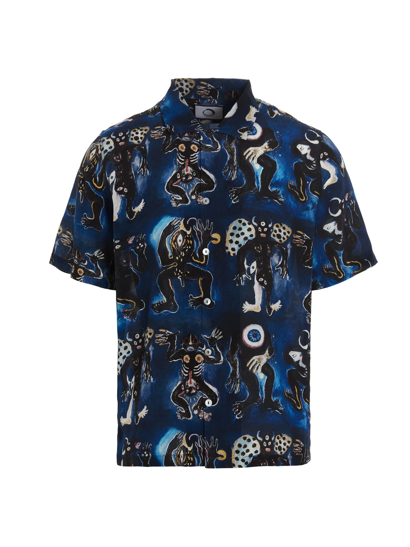 blue Totem Shirt