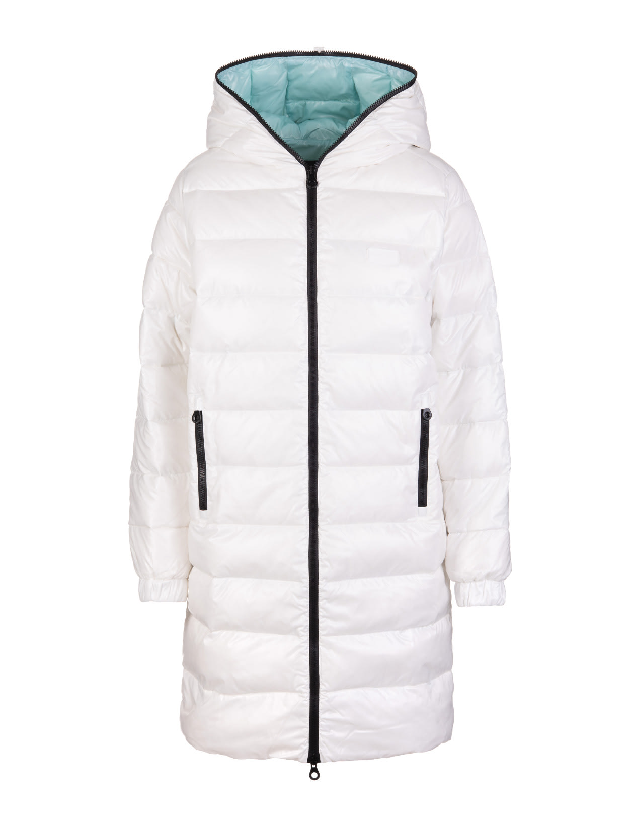Woman White Tyldue Down Jacket
