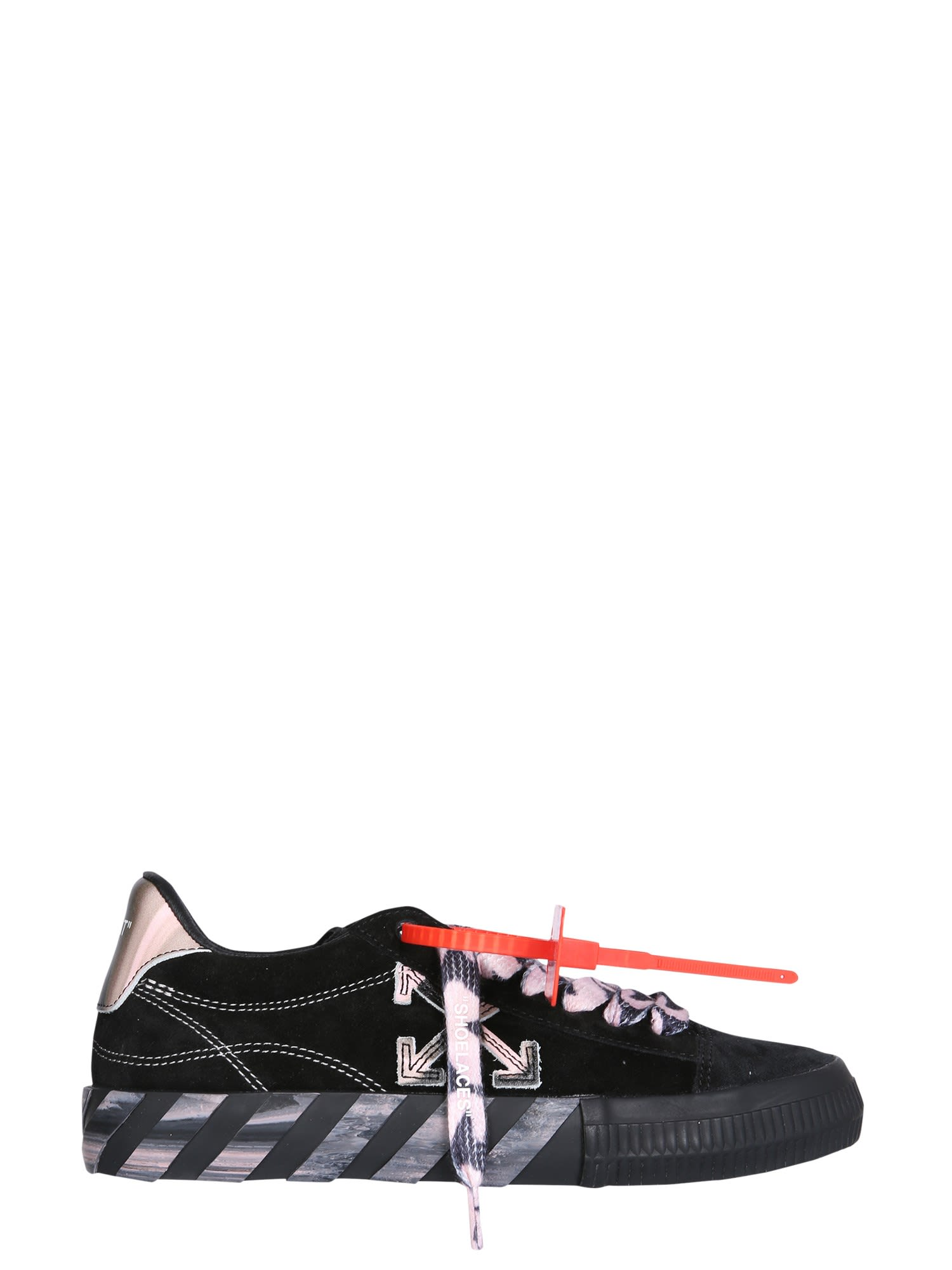 Off-White Suedes LOW VULCANIZED SNEAKERS