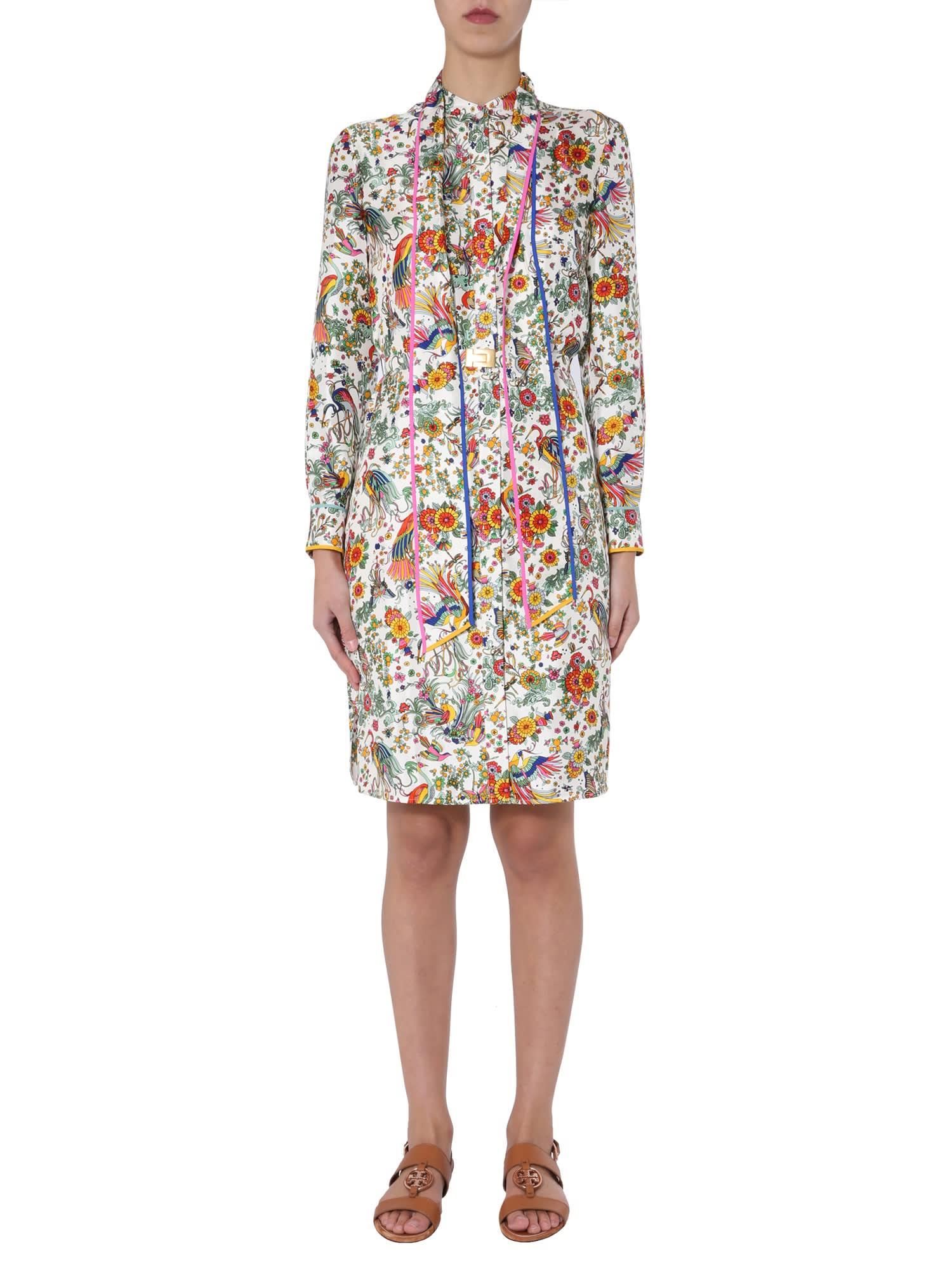 Buy Tory Burch Shirt Dress online, shop Tory Burch with free shipping