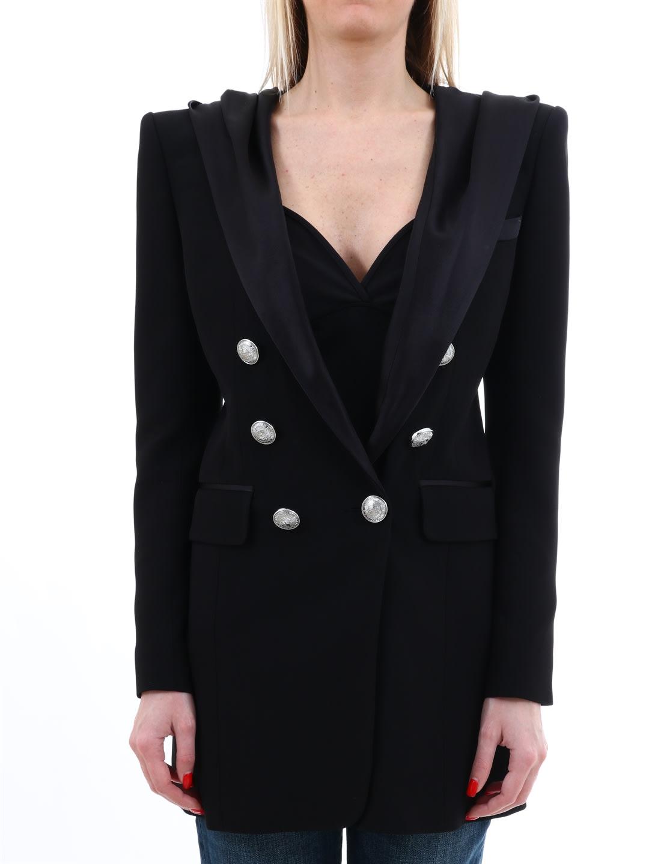 Balmain Black Hoodie Jacket