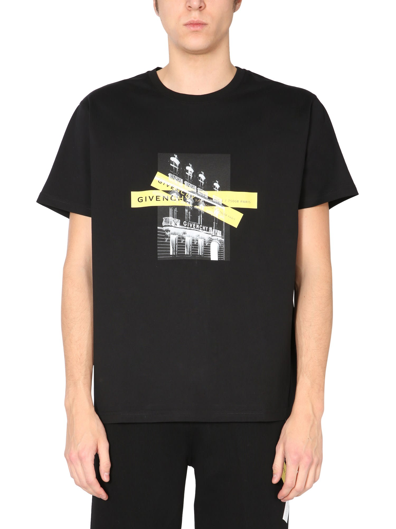 Givenchy Cottons T-SHIRT WITH LOGO
