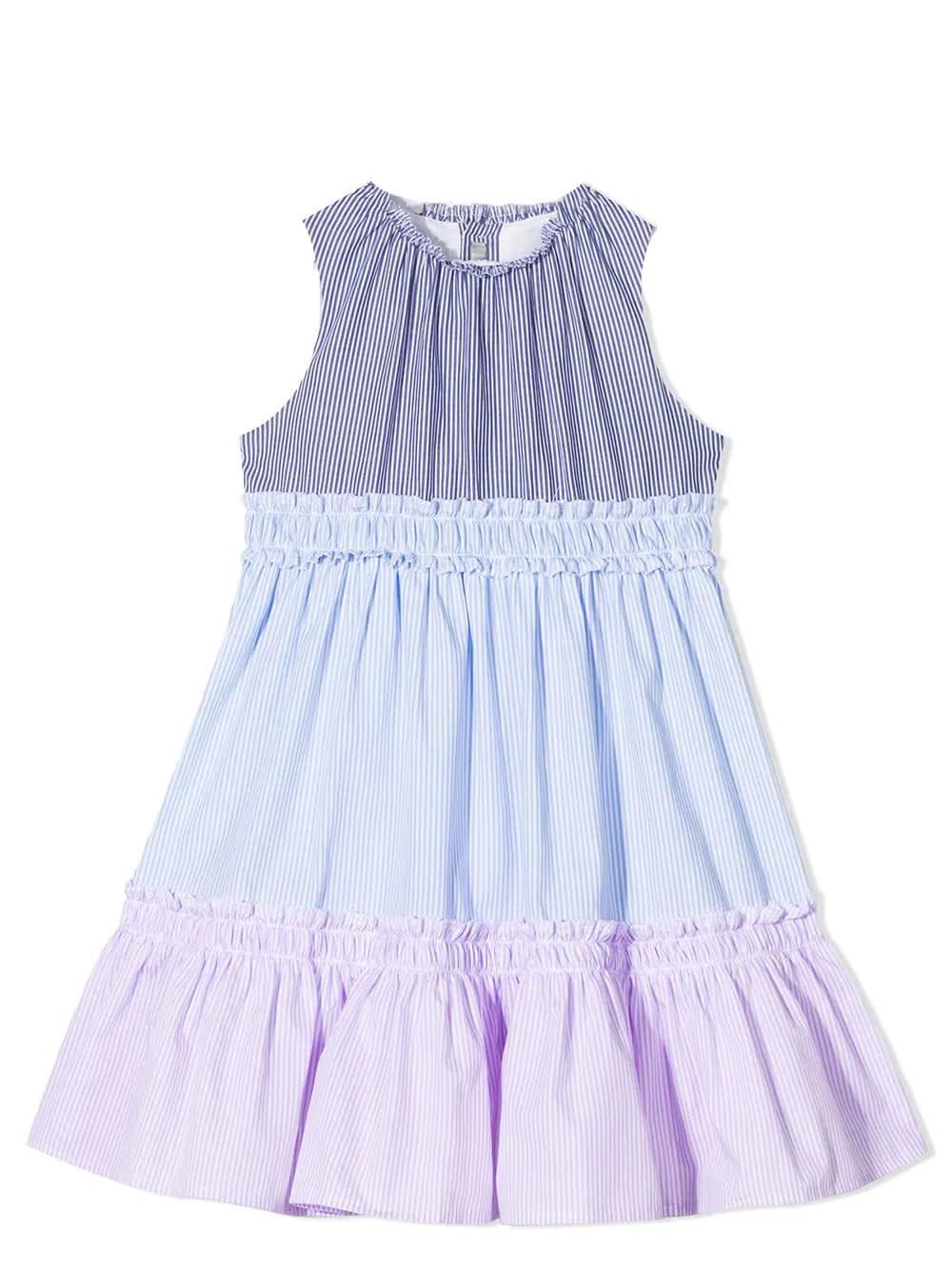 Il Gufo Cottons STRIPED DRESS