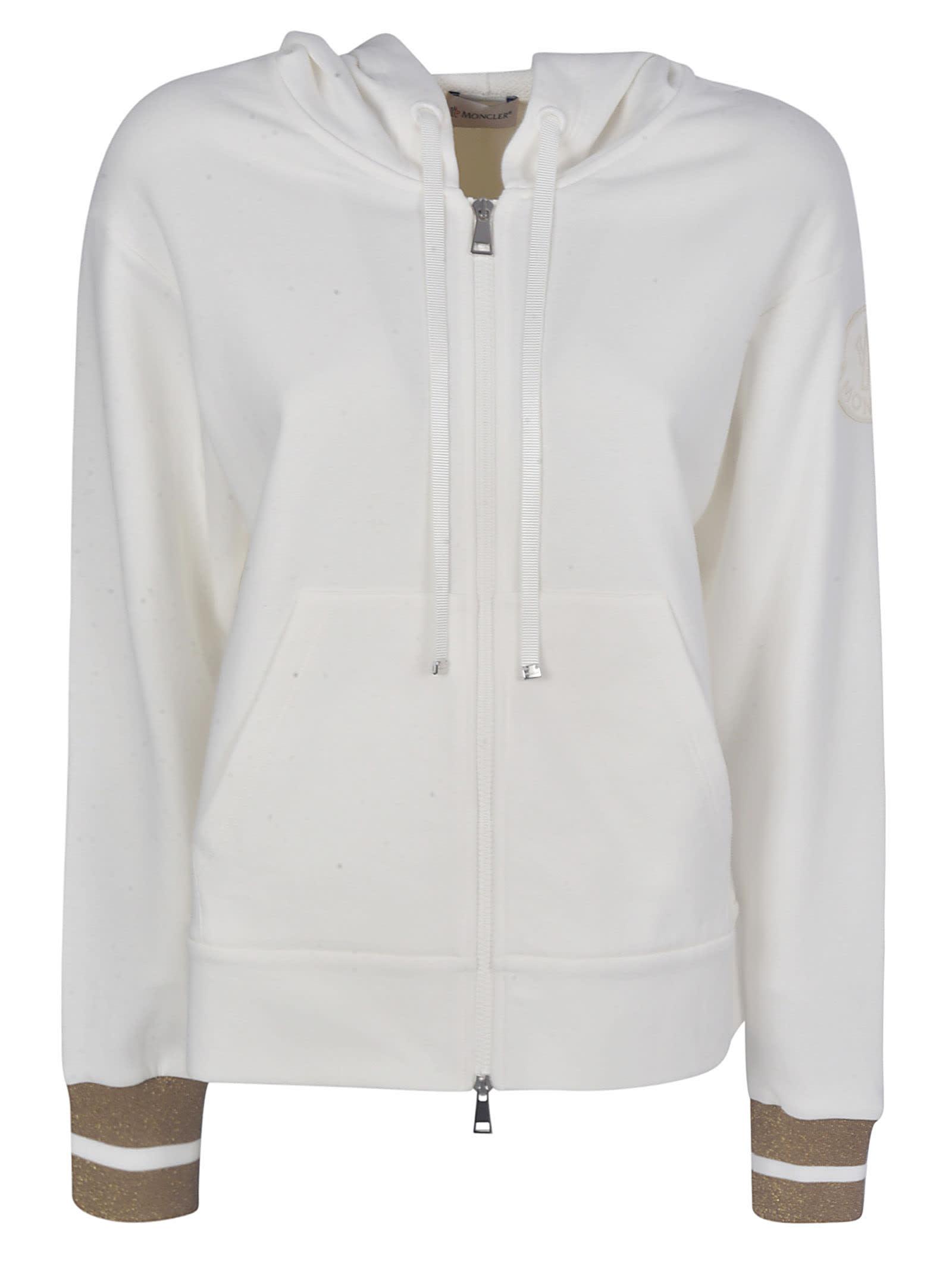 Moncler Hooded Zip Jacket