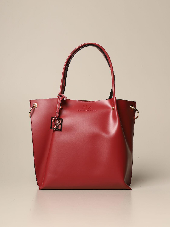 Armani Exchange Tote Bags Armani Exchange Handbag In Synthetic Leather