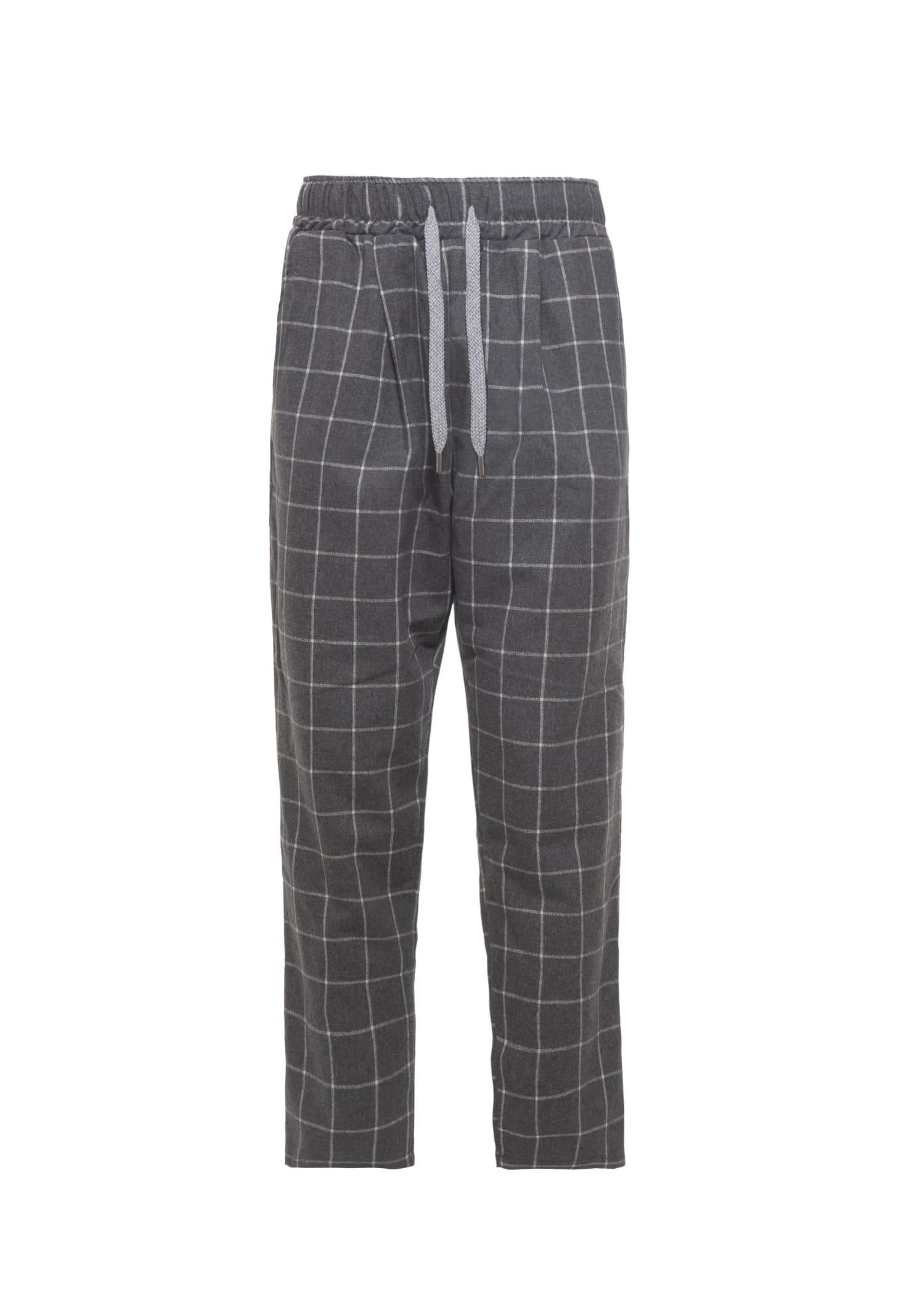 Pants Chino Square Grey