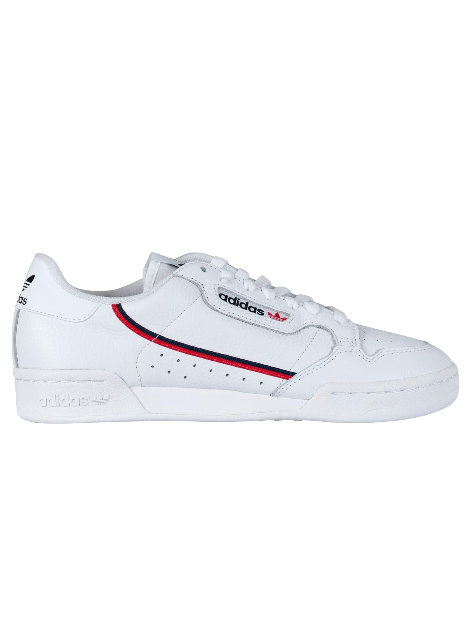 adidas Continental 80 G27706 Ftwwht/Scarle/Conavy