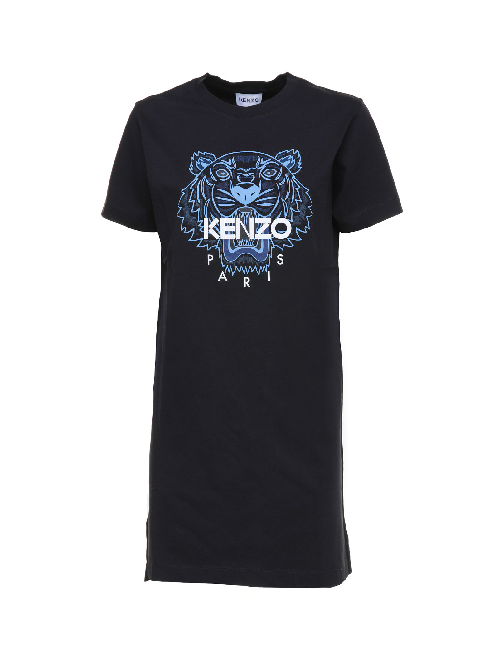 Buy Kenzo Kenzo Tiger T-shirt Dress online, shop Kenzo with free shipping