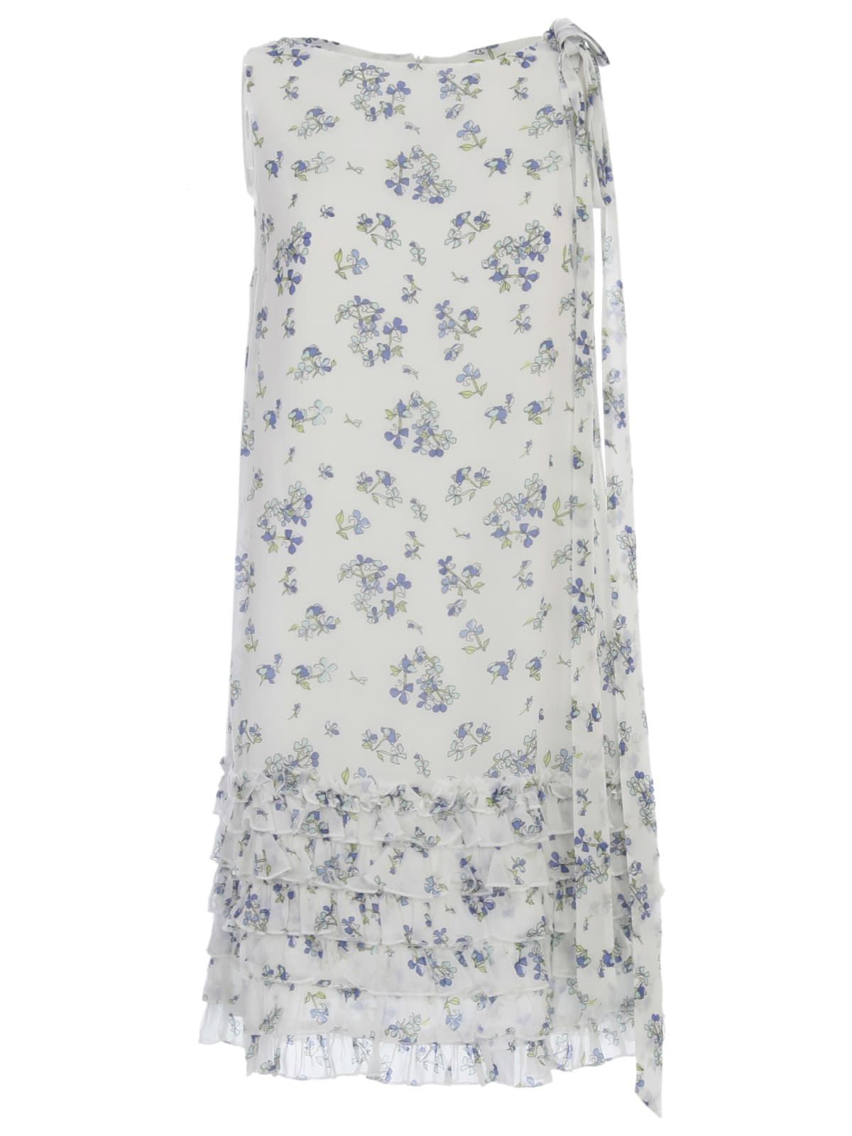 Buy Be Blumarine Dress W/s Crew Neck Voille online, shop Be Blumarine with free shipping