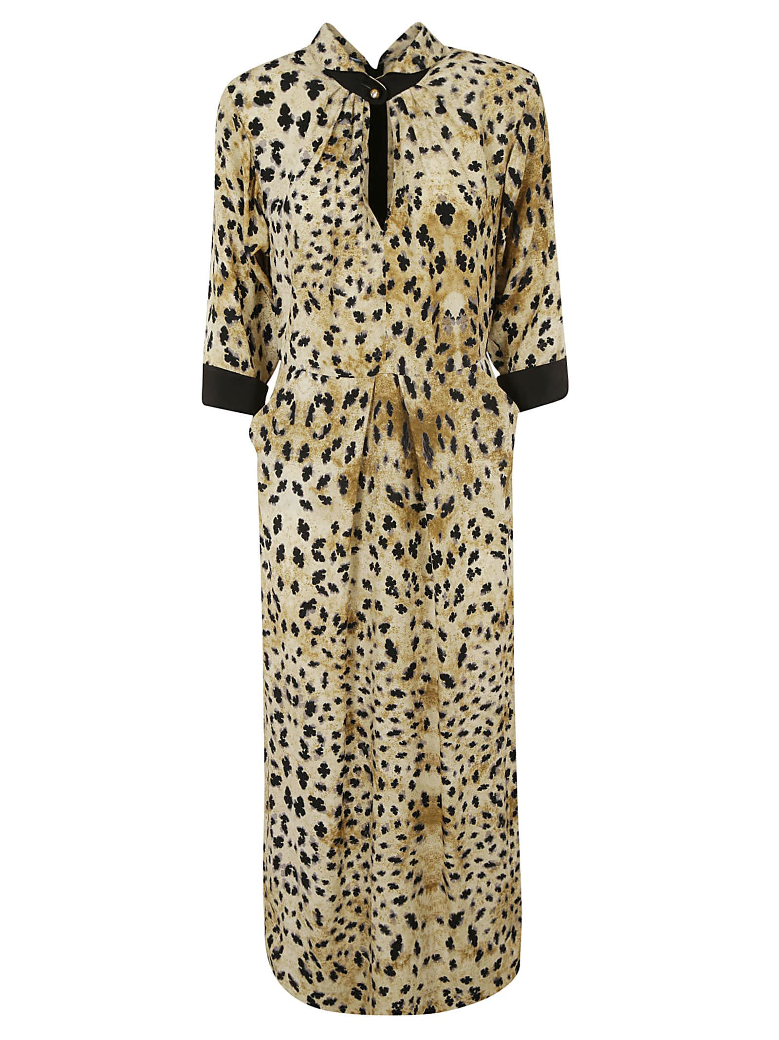 Prada Leopard Print Dress