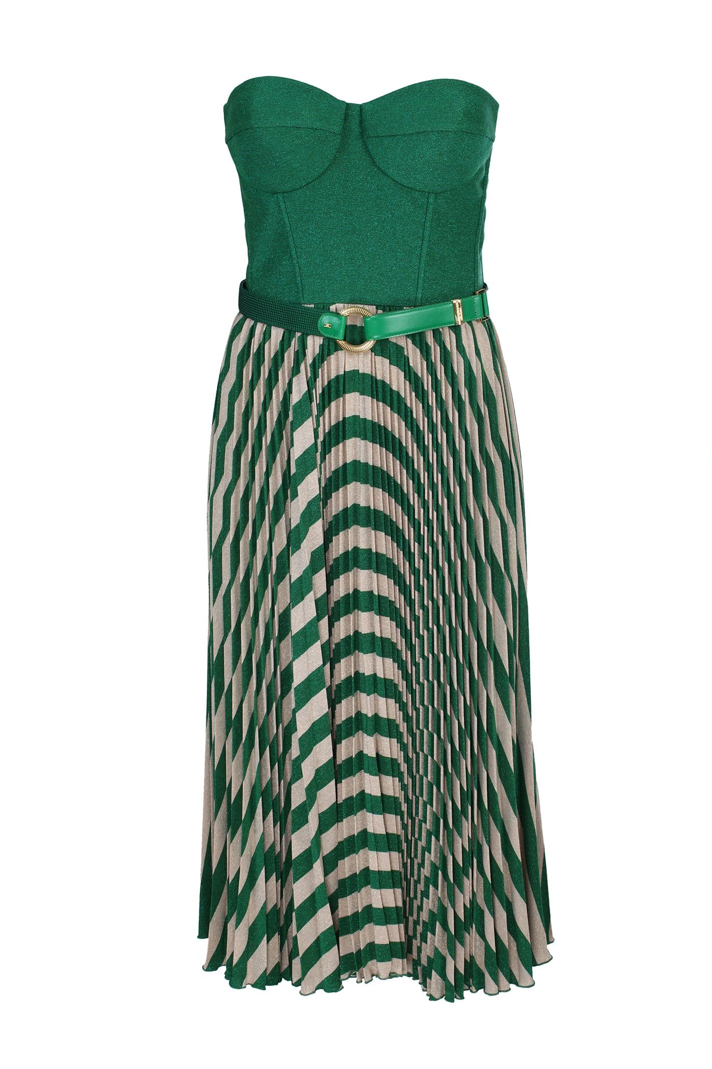 Buy Elisabetta Franchi Celyn B. Elisabetta Franchi Sleeveless Dress online, shop Elisabetta Franchi Celyn B. with free shipping
