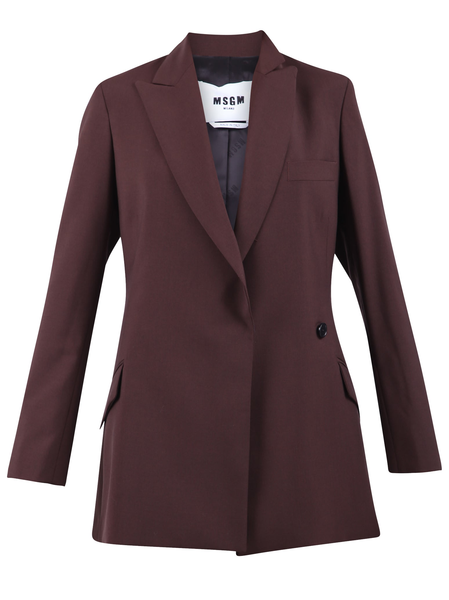 MSGM Brown Jacket