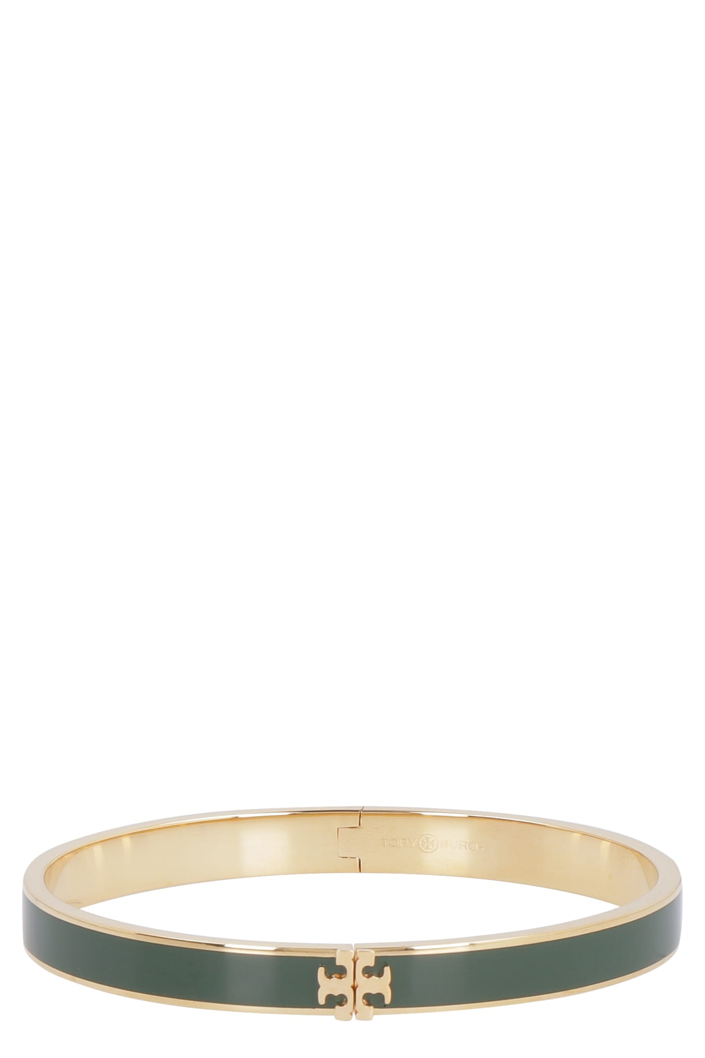 Tory Burch Kira Enameled Brass Bracelet