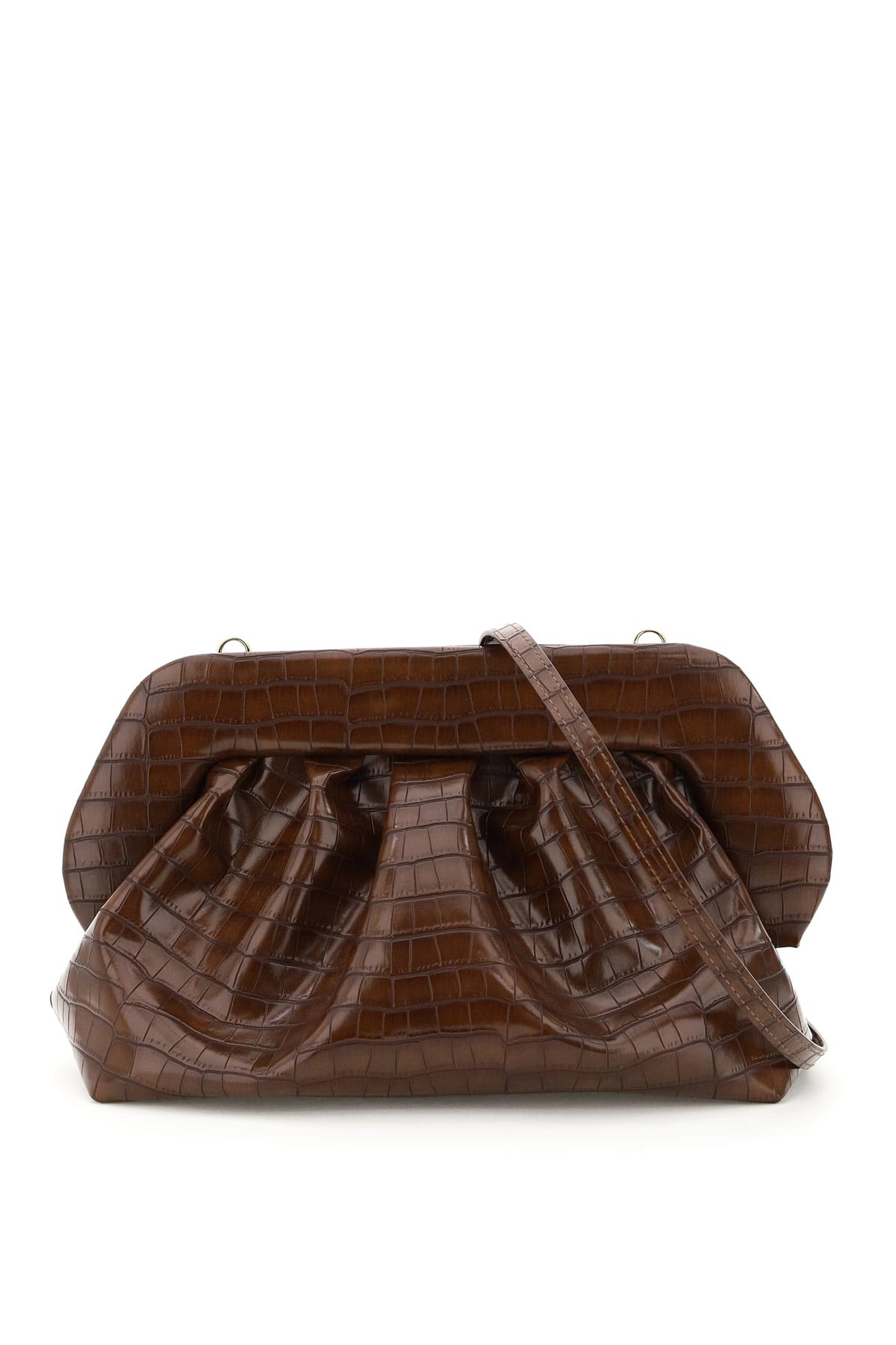 Themoirè BIOS CROCO VEGAN LEATHER CLUTCH