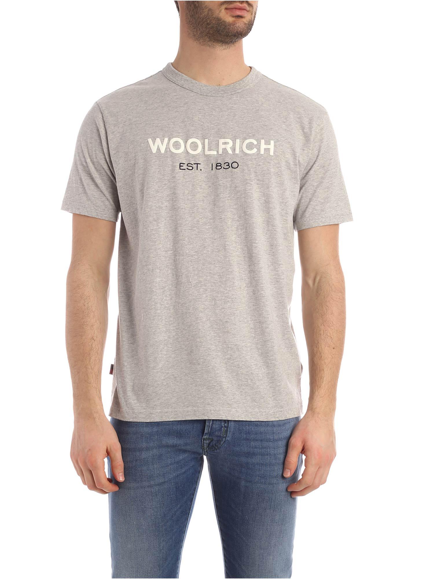 Woolrich Logo Tee