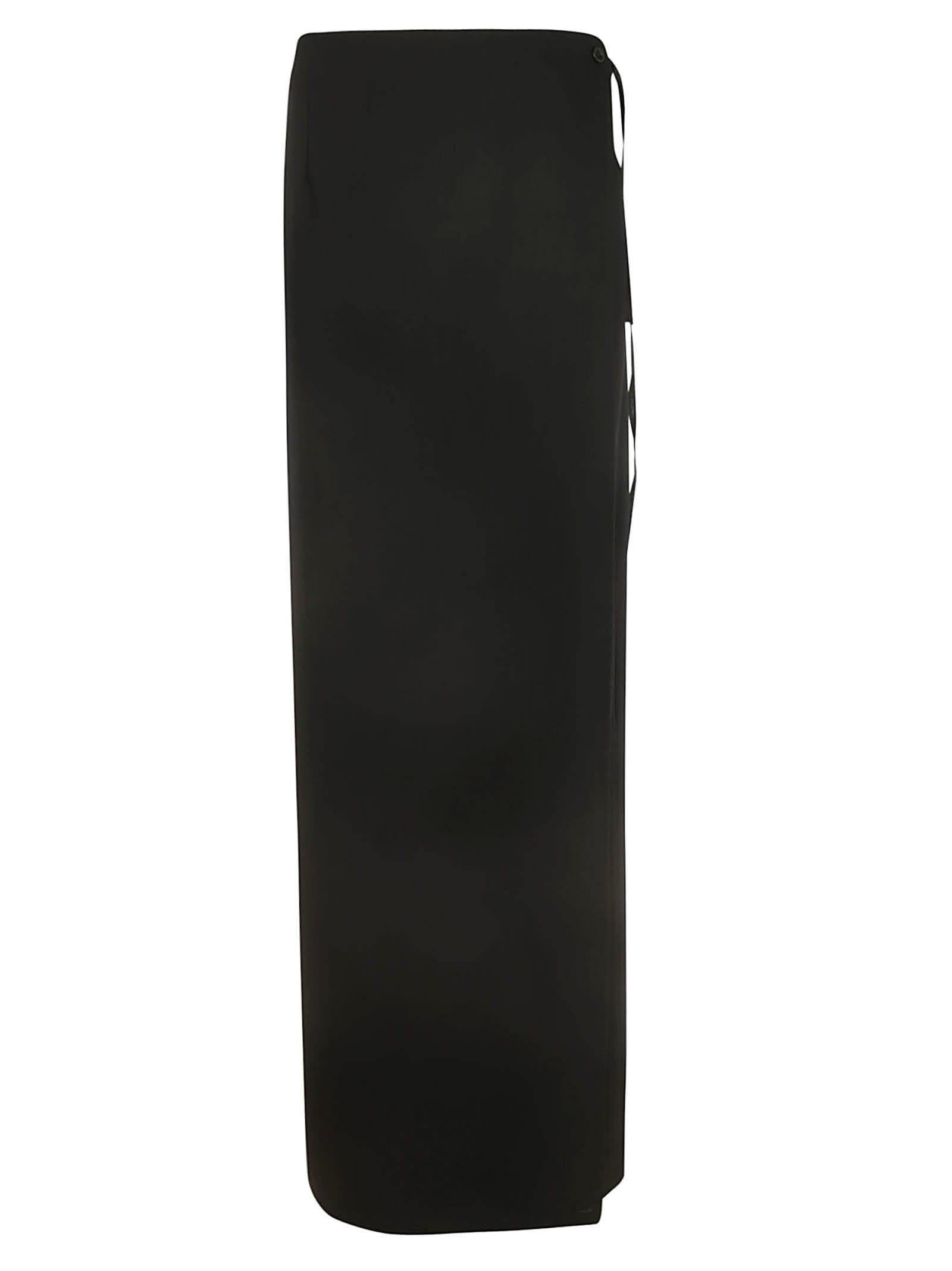 Ann Demeulemeester Side Tie Skirt