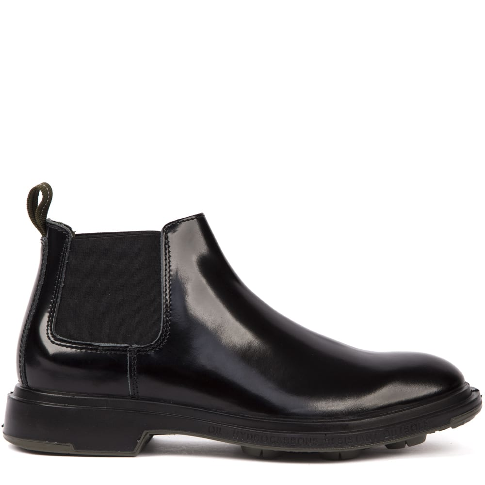 Pezzol 1951 Black Color Calf Leather Boots