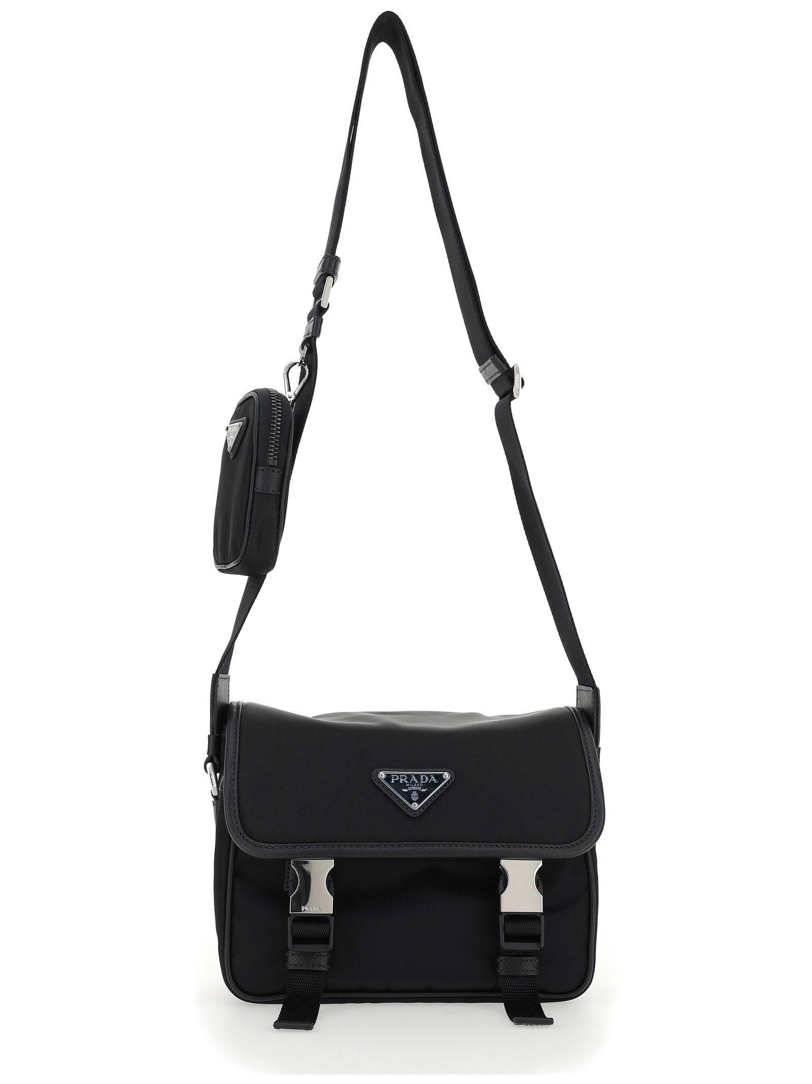 Prada Shoulder Bag In Nero