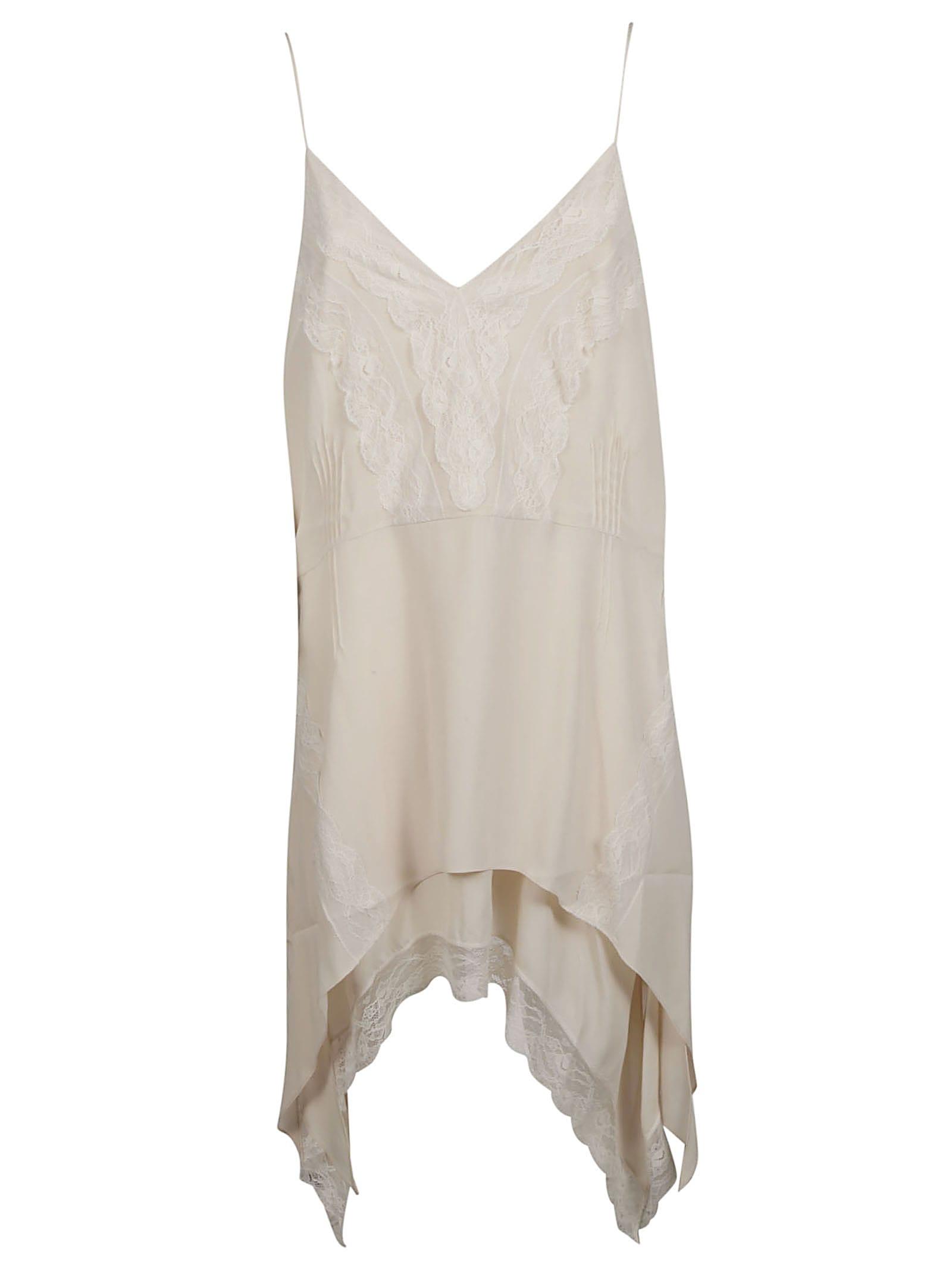 Buy IRO Lace Trim Midi Dress online, shop IRO with free shipping