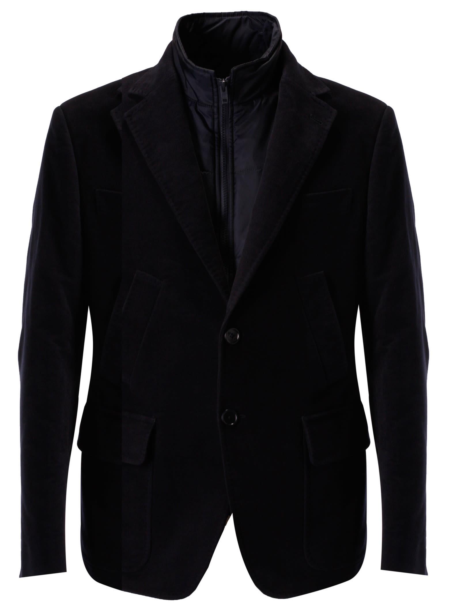 on sale ec271 a6cf8 Fay Single Breasted Blazer