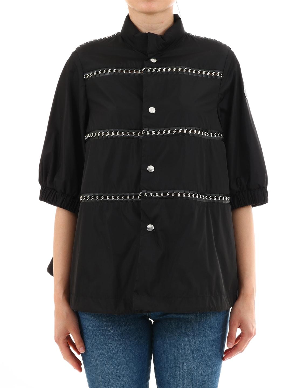 Moncler Silver Jacket Black