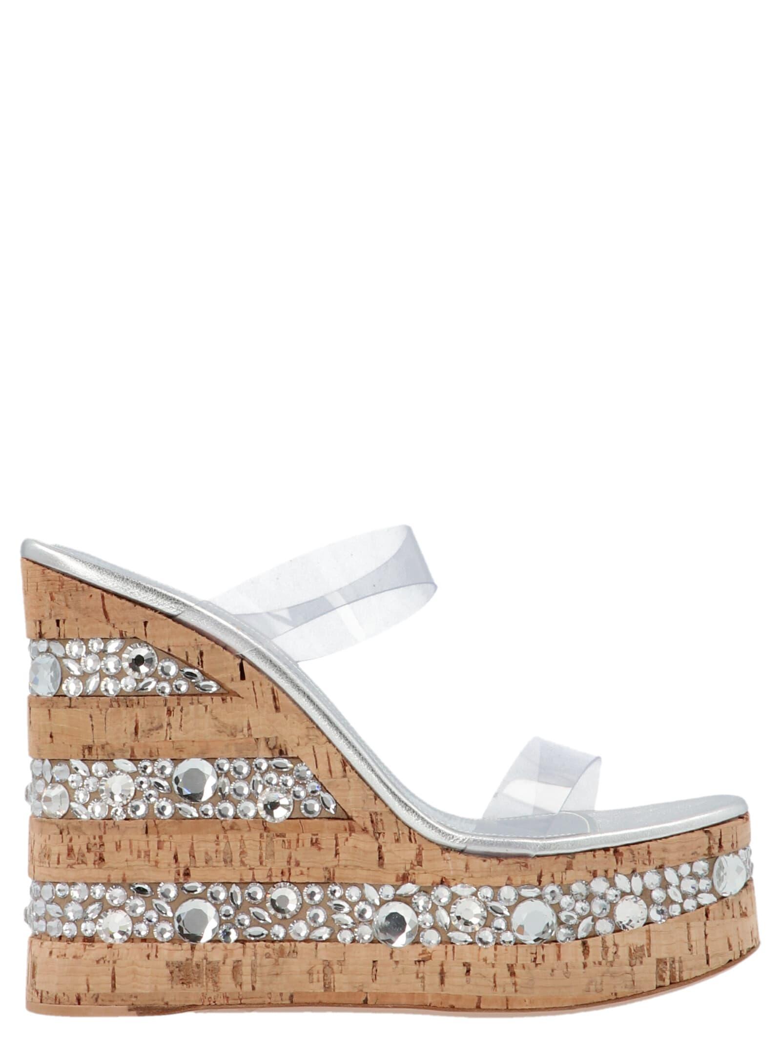 croco Crystal Shoes