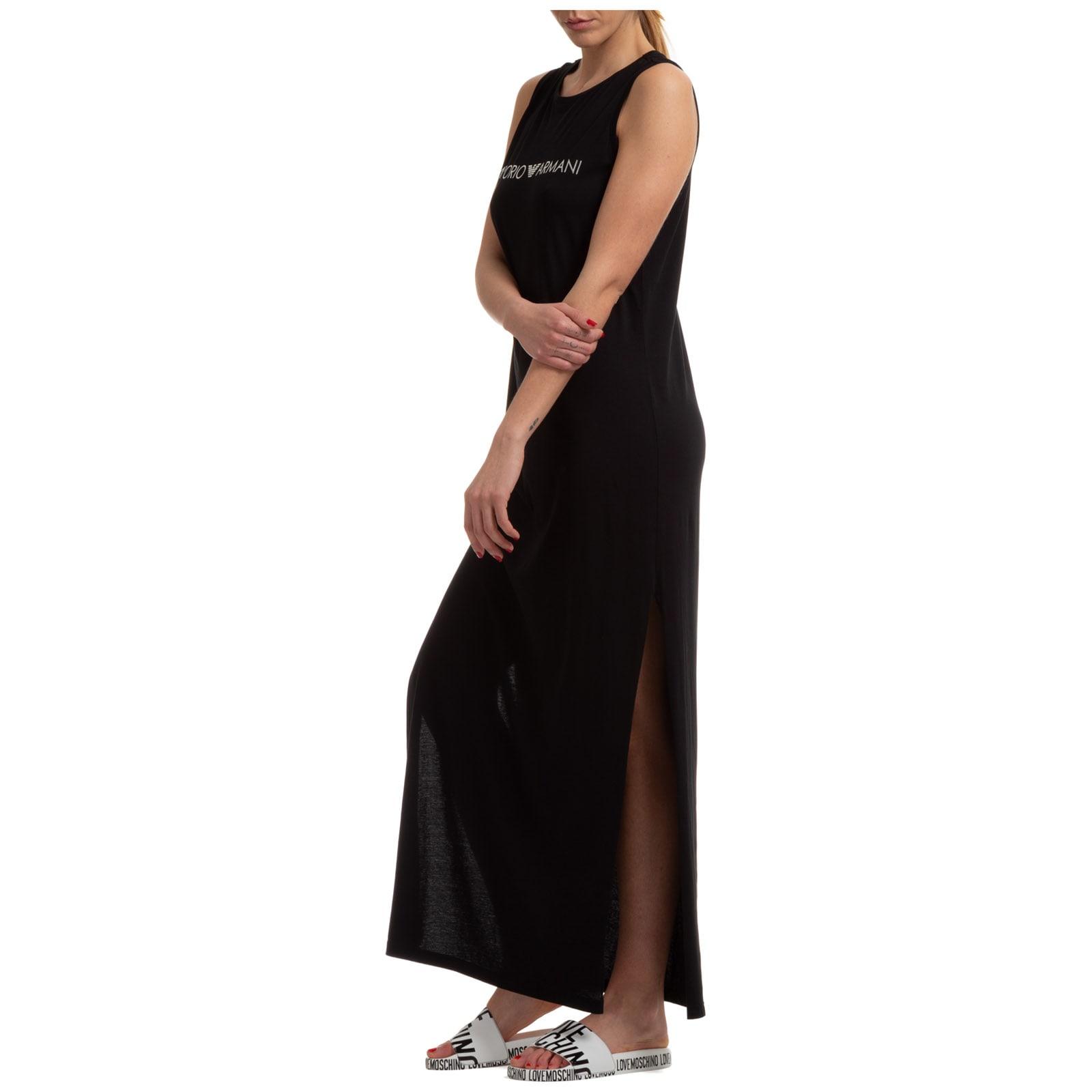 Buy Emporio Armani Lana Maxi Dresses online, shop Emporio Armani with free shipping