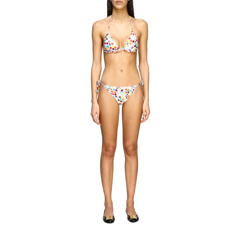 Missoni Mare Swimsuit Missoni Mare Triangle Bikini With Drawstring Briefs
