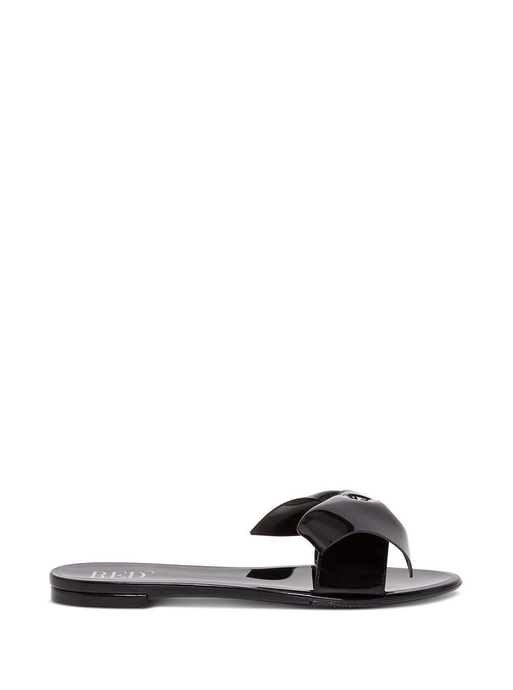 Red Valentino RUBBER SANDALS WITH BOW