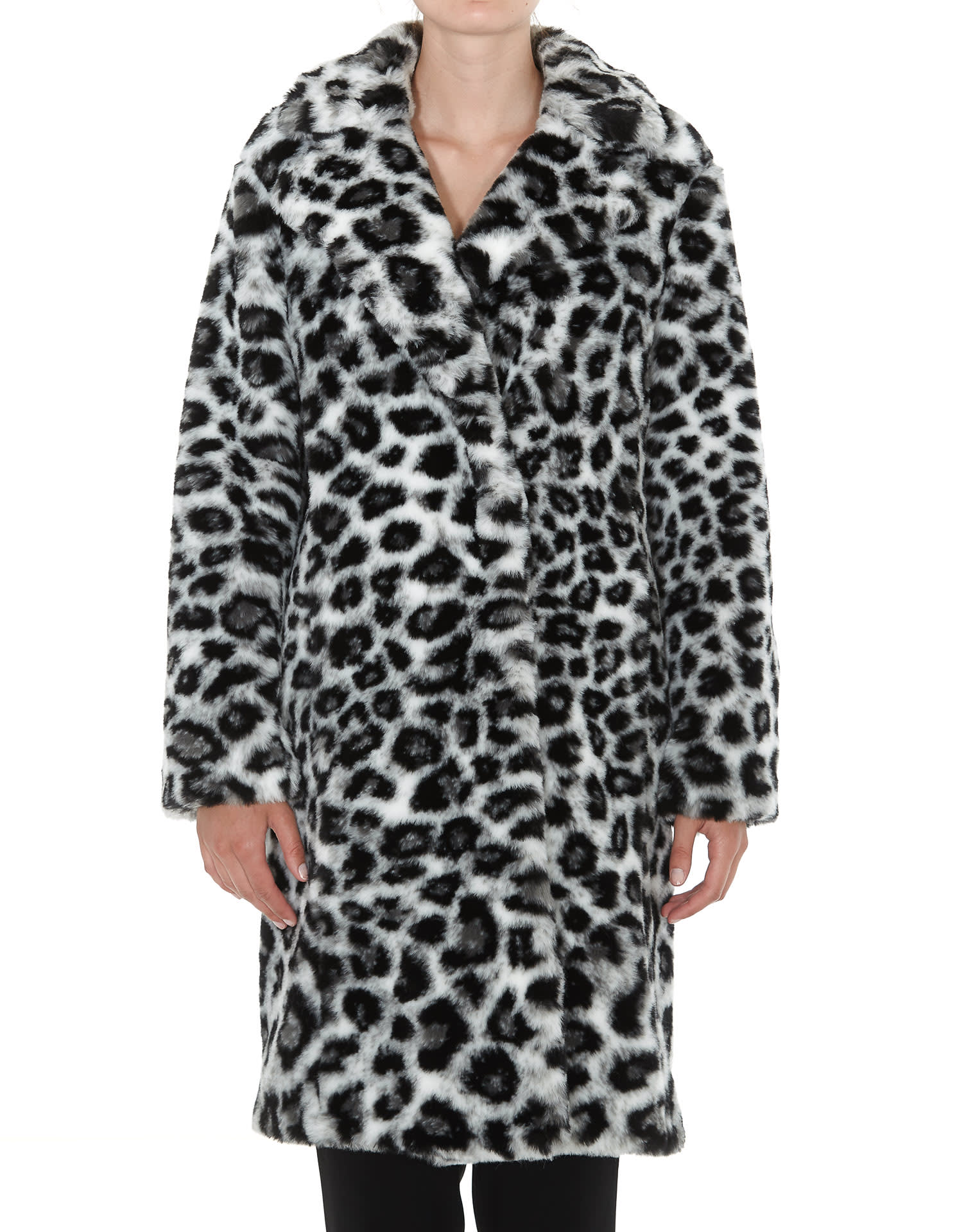 Alberta Ferretti Love Me Wild Eco Fur Coat