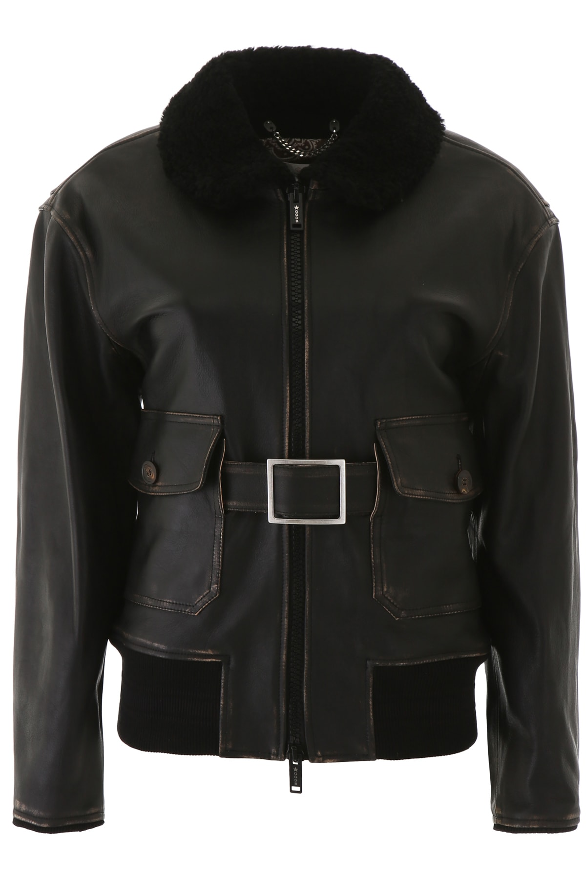 Golden Goose Erika Aviator Jacket