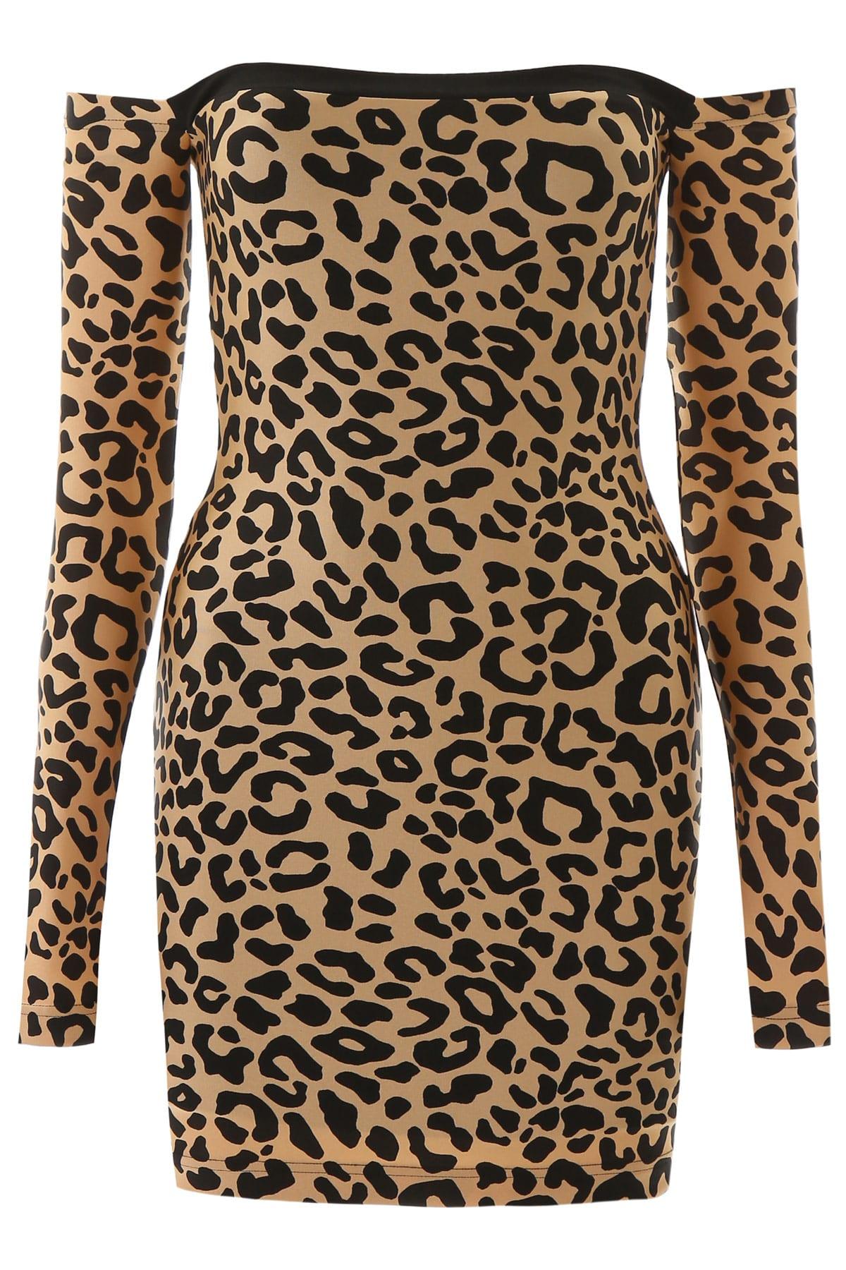 Buy Halpern Animalier Mini Dress online, shop Halpern with free shipping