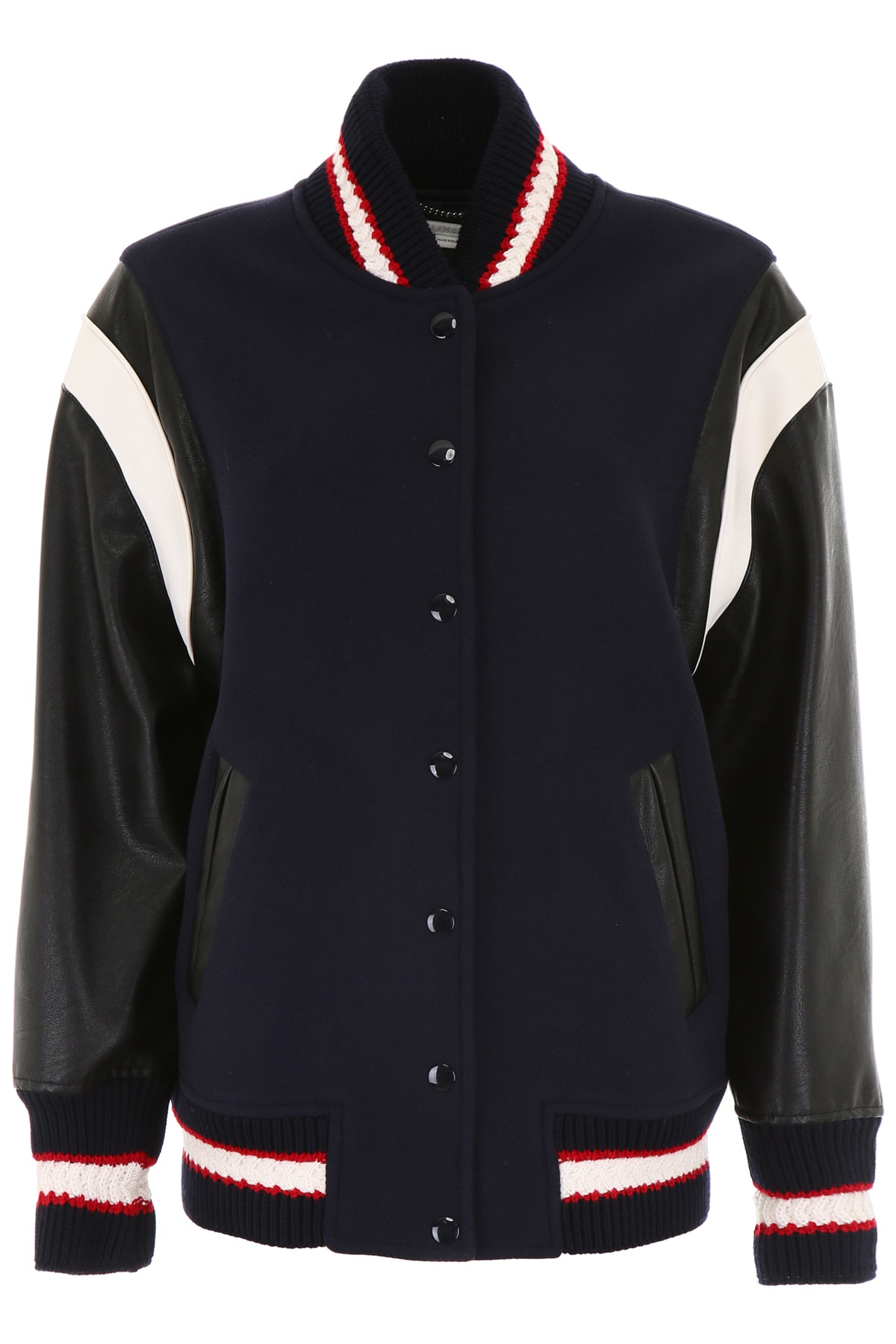 Stella McCartney Varsity Bomber Jacket