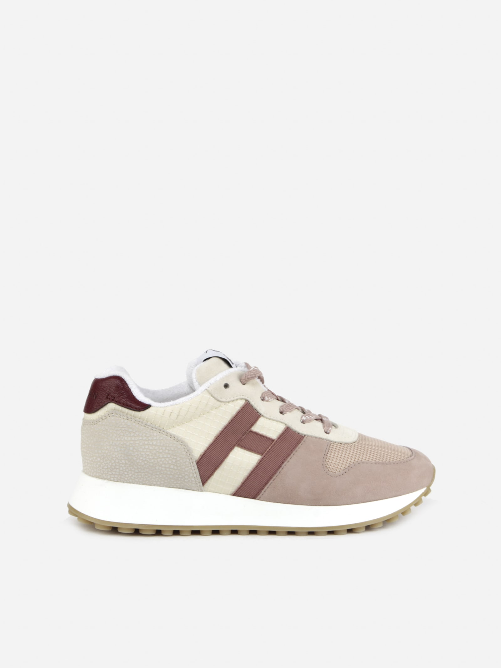 Hogan Sports H383 SNEAKERS IN SUEDE WITH TECHNICAL FABRIC INSERTS